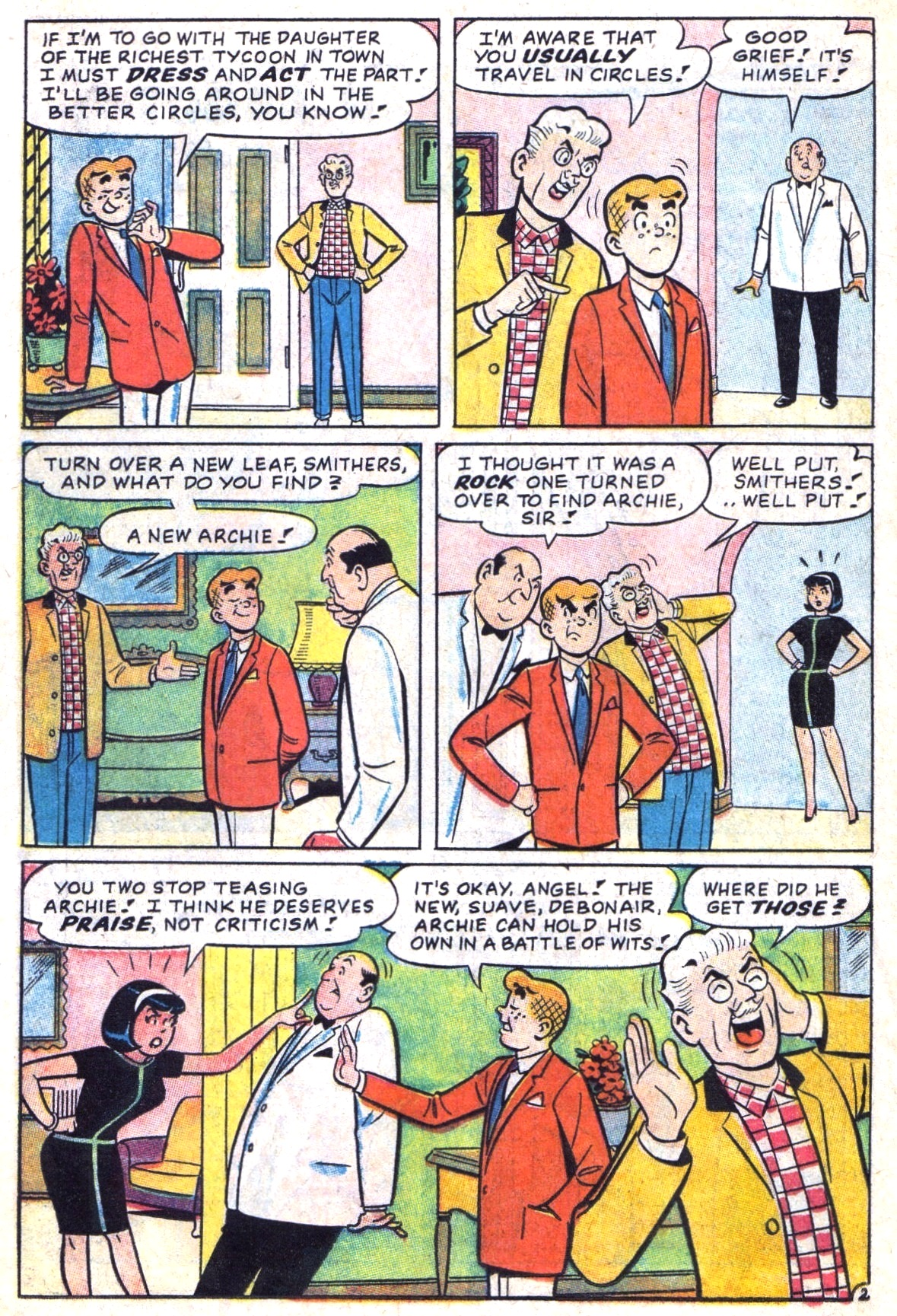 Read online Archie (1960) comic -  Issue #173 - 14