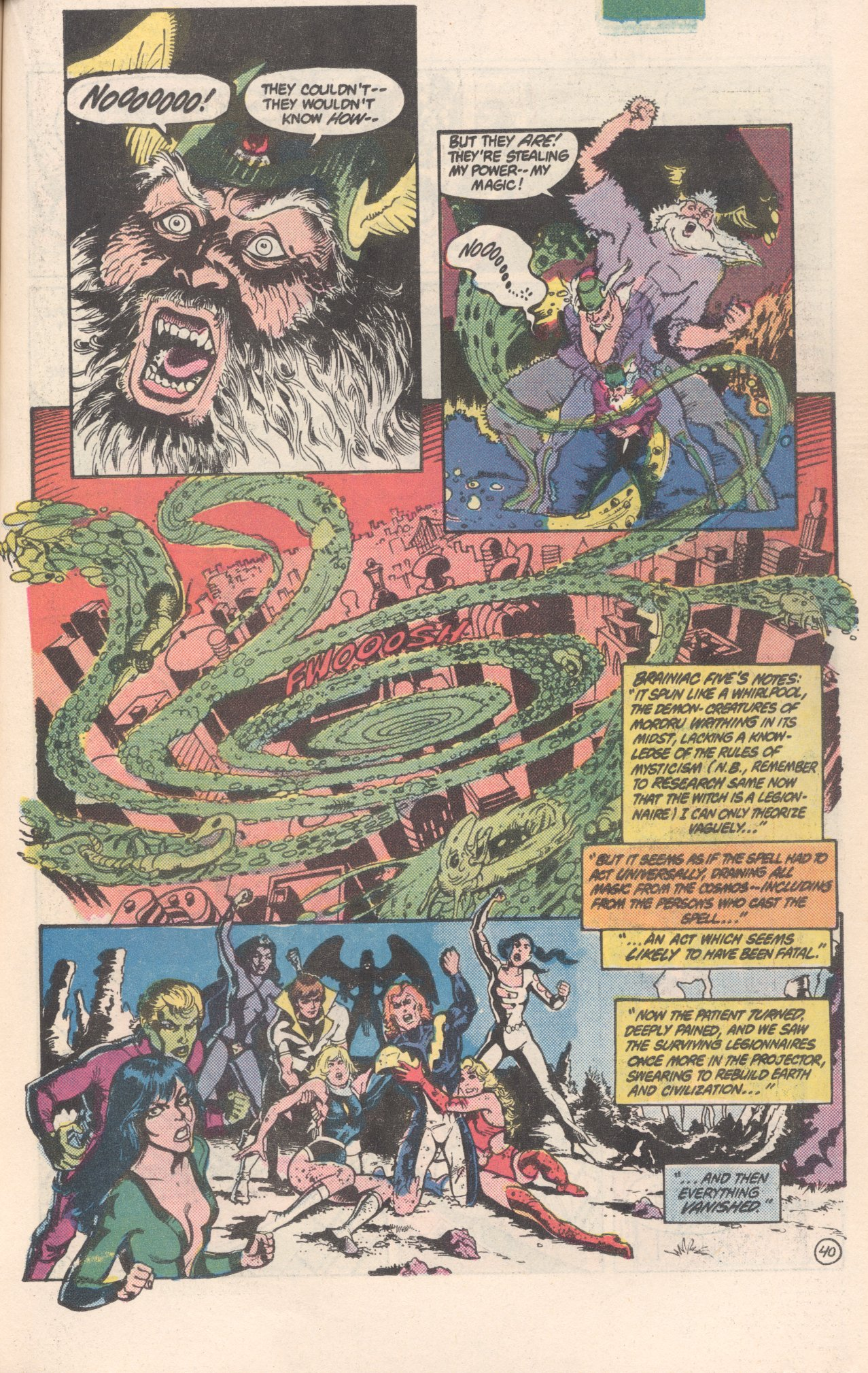 Legion of Super-Heroes (1980) 300 Page 40