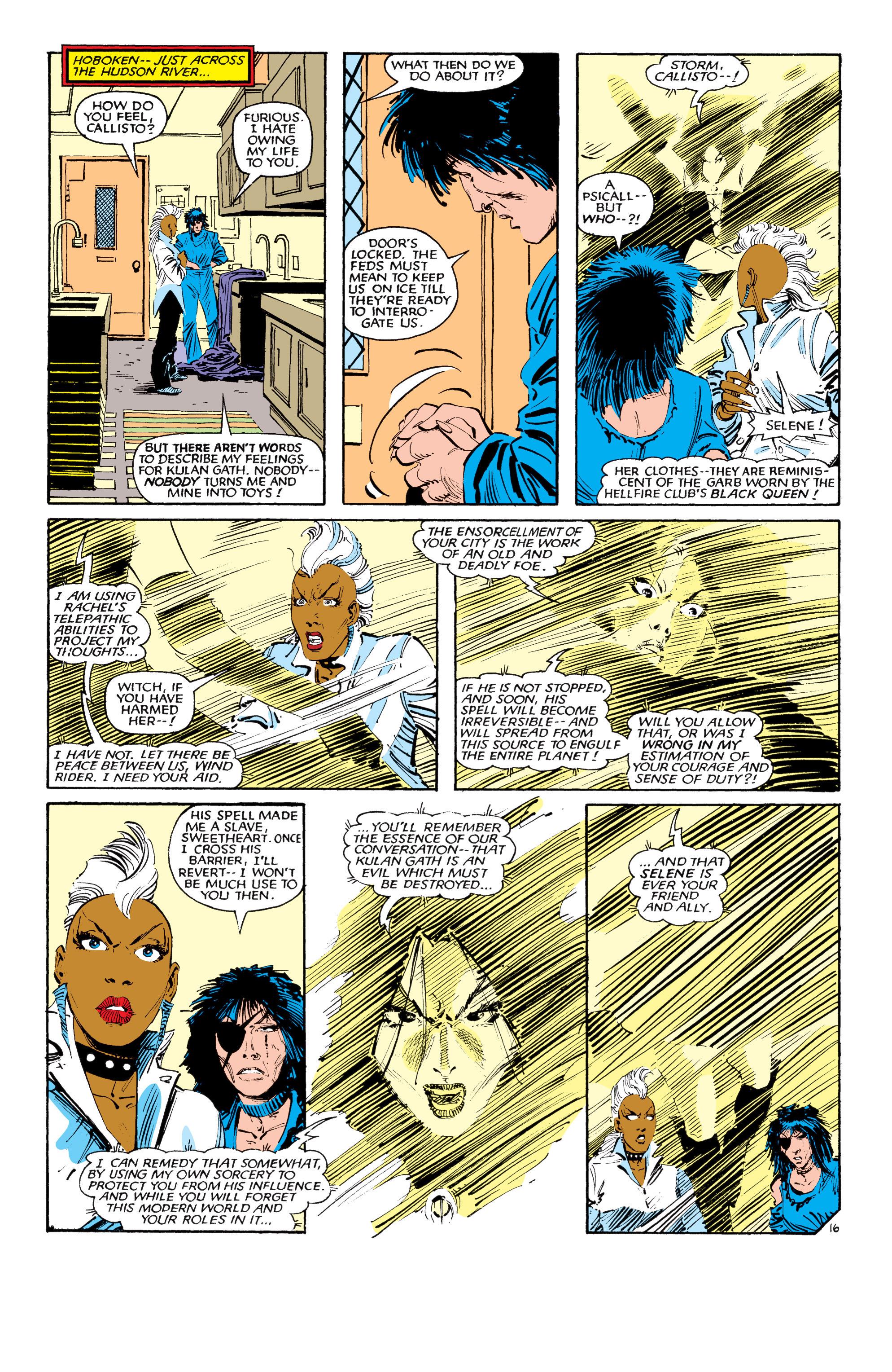 Read online Uncanny X-Men (1963) comic -  Issue #190 - 16