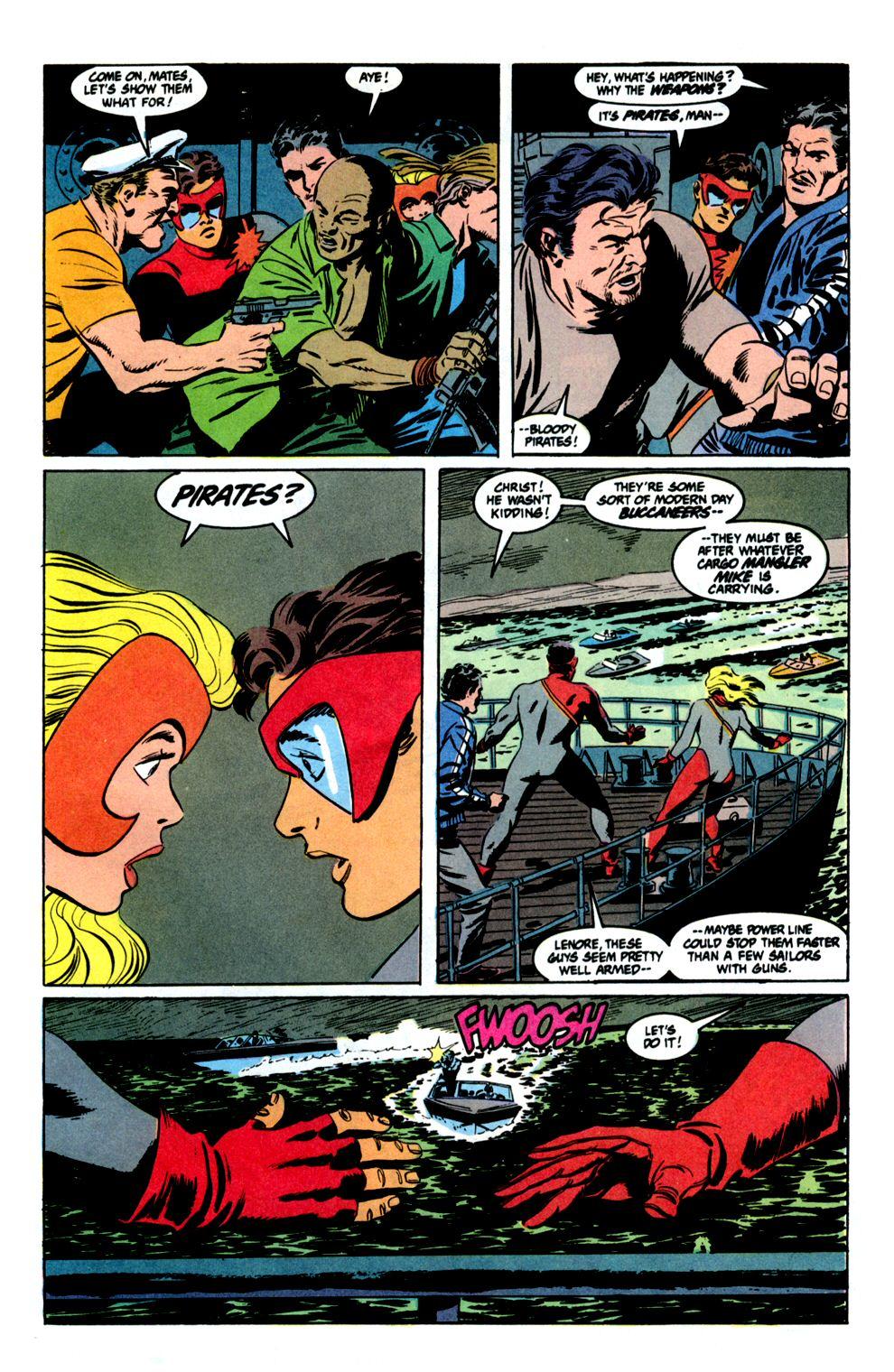 Read online Powerline comic -  Issue #8 - 9