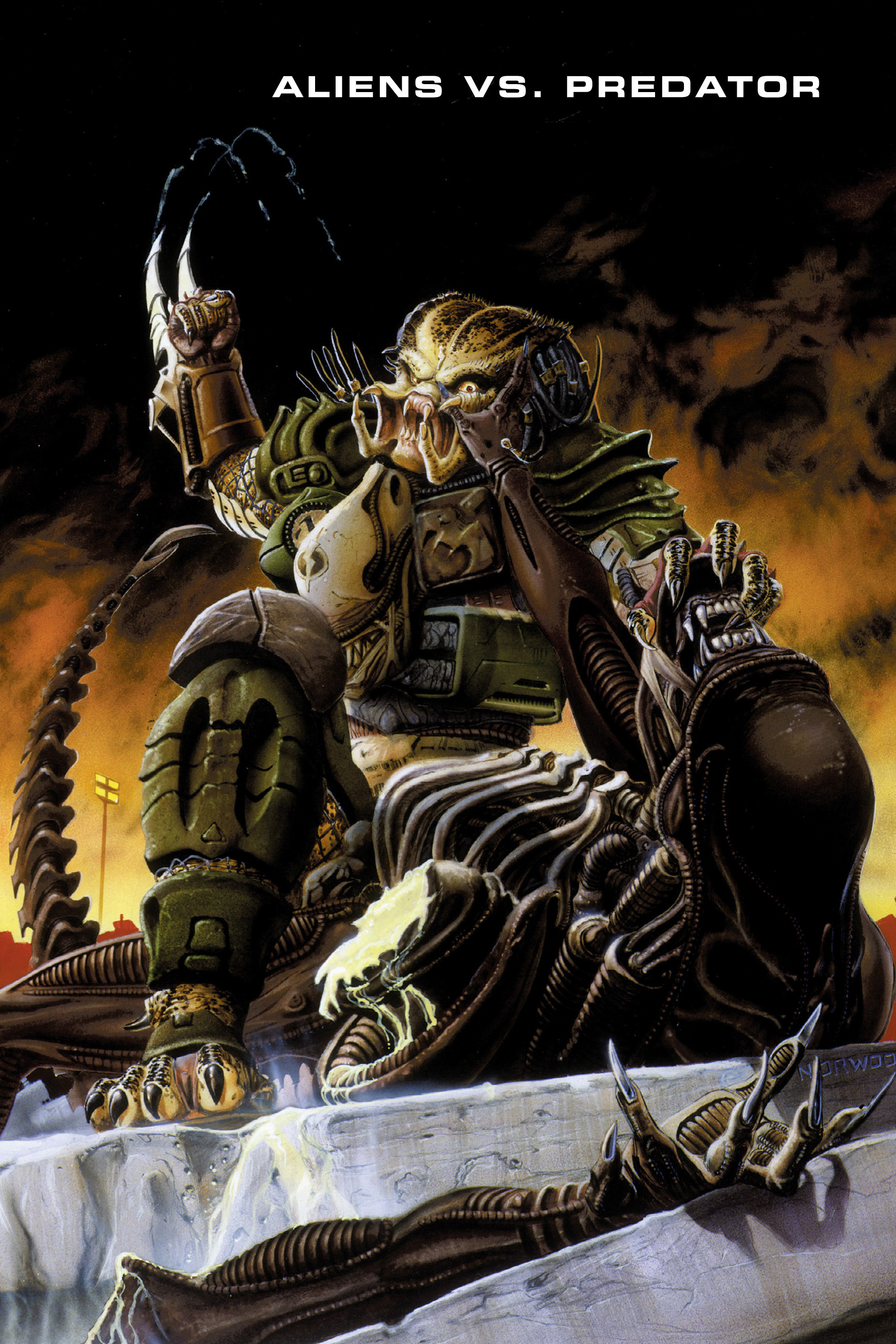 Read online Aliens vs. Predator Omnibus comic -  Issue # _TPB 1 Part 1 - 5