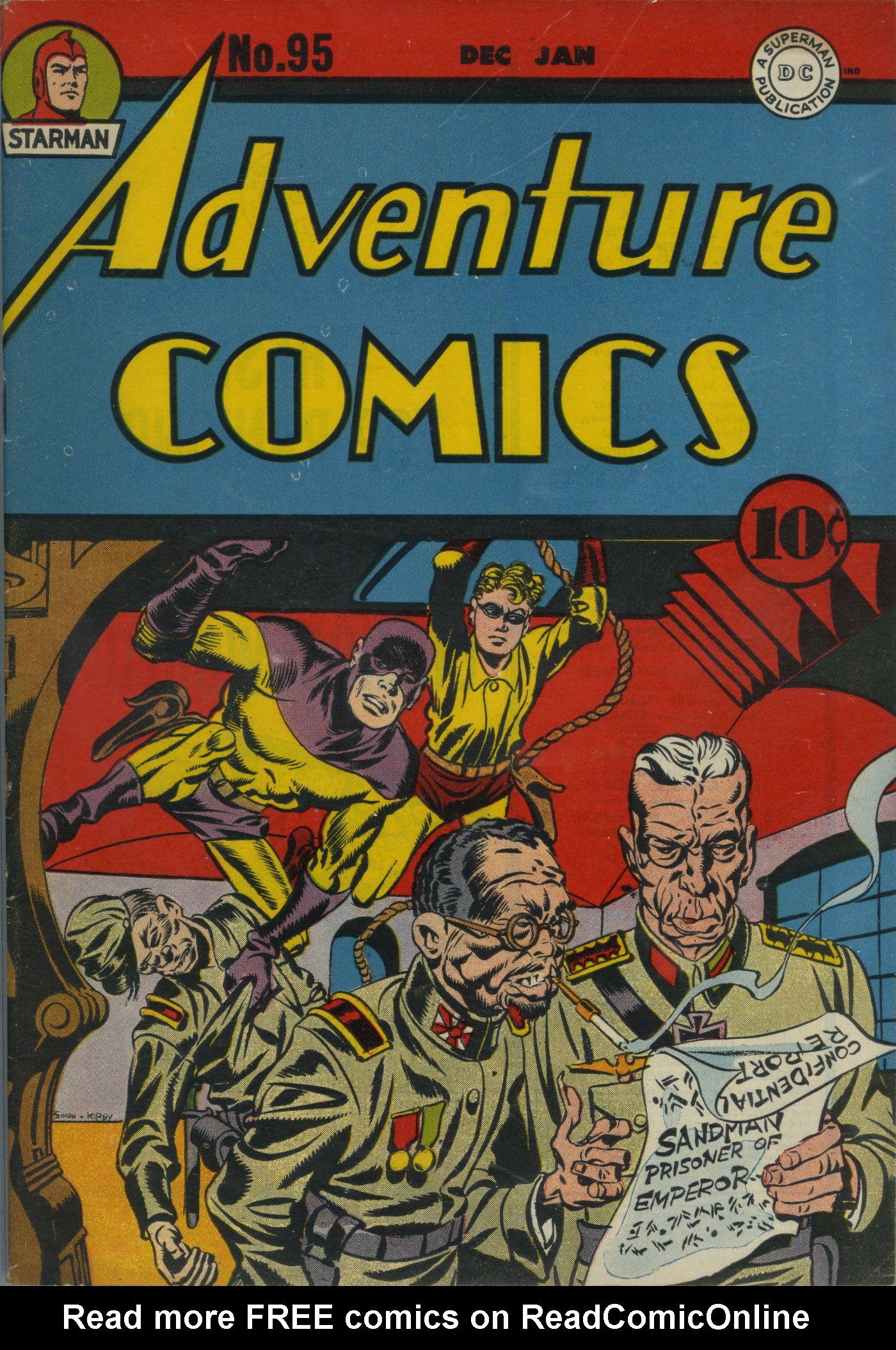 Read online Adventure Comics (1938) comic -  Issue #95 - 2