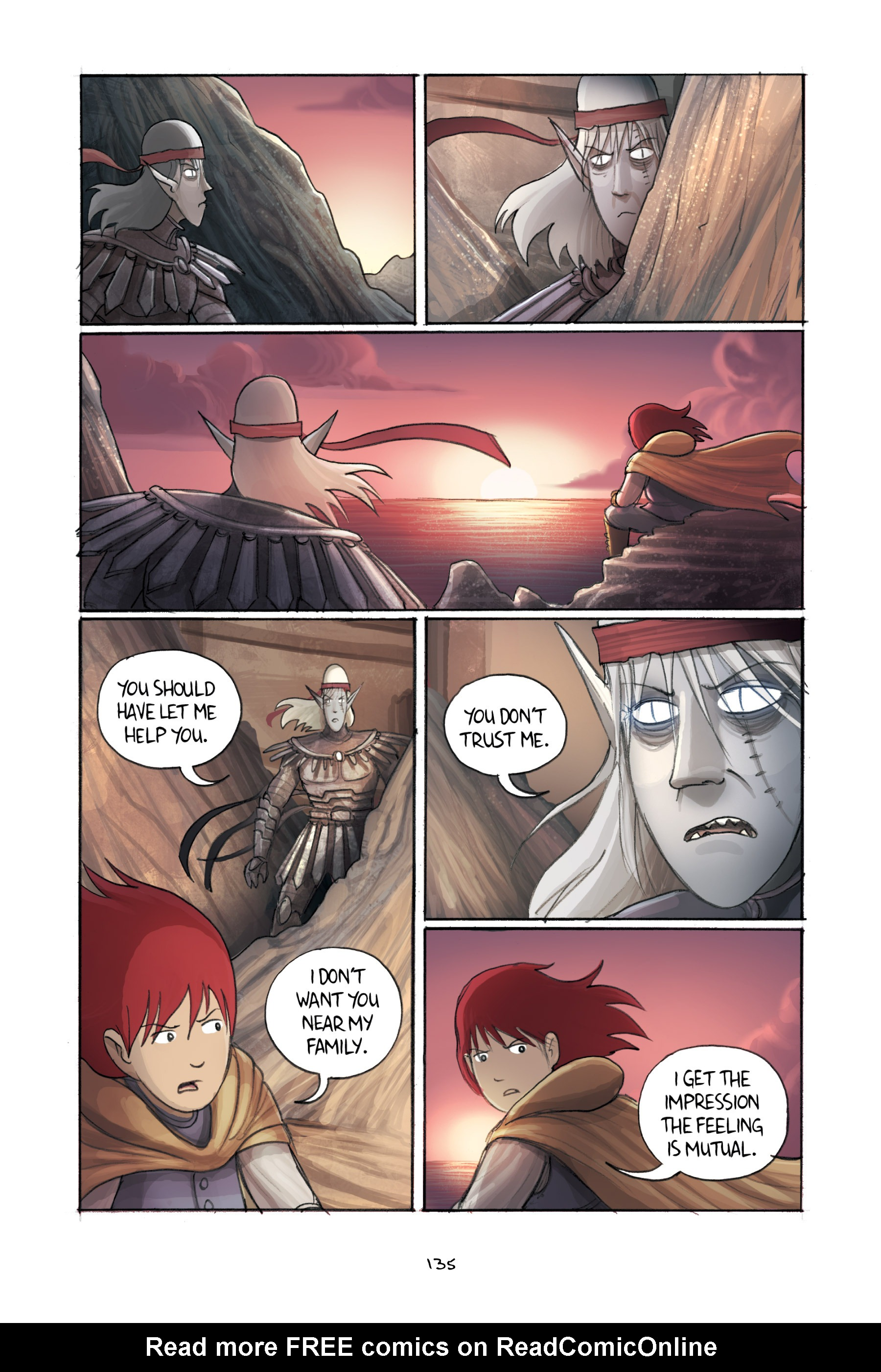 Read online Amulet comic -  Issue #3 - 132