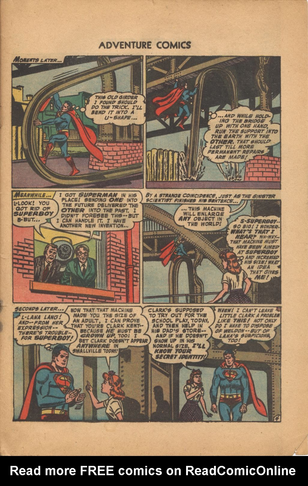 Read online Adventure Comics (1938) comic -  Issue #320 - 29