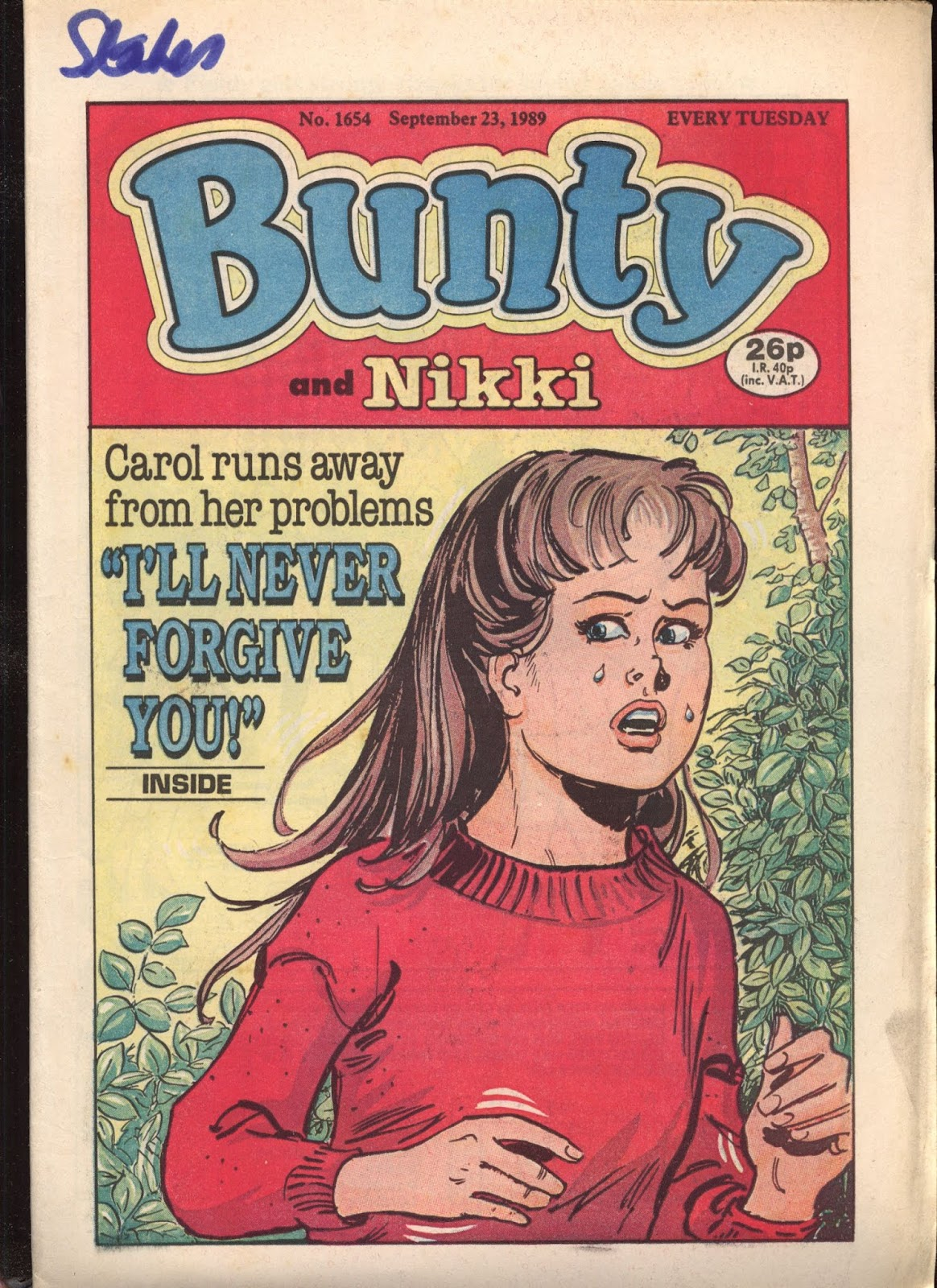 Bunty 1654 Page 1
