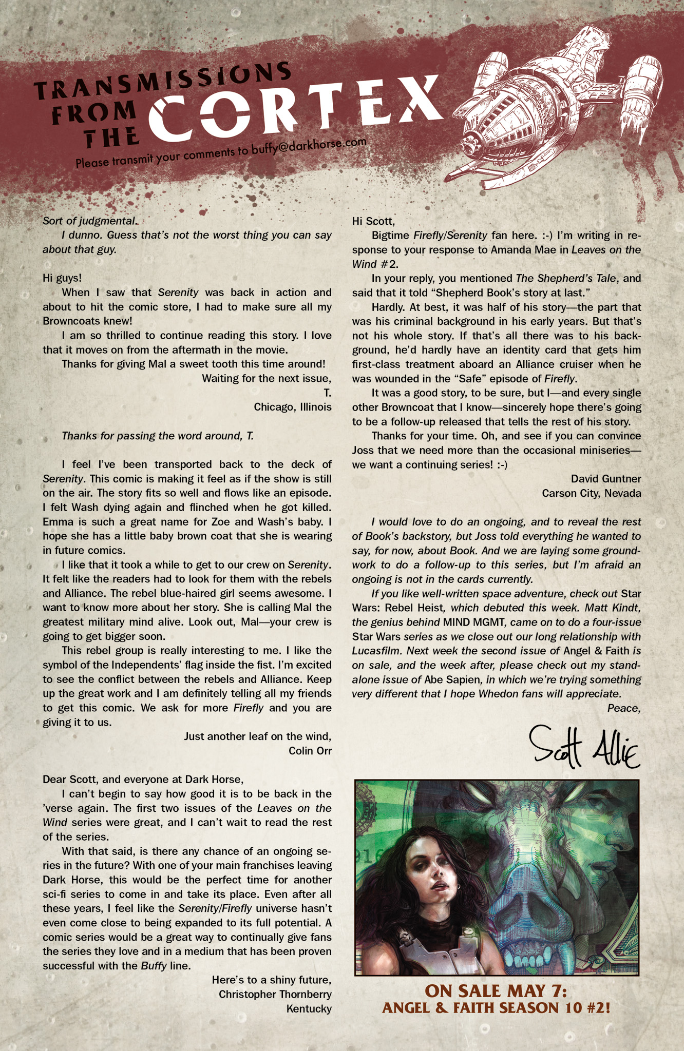 Read online Serenity: Firefly Class 03-K64  Leaves on the Wind comic -  Issue #4 - 25