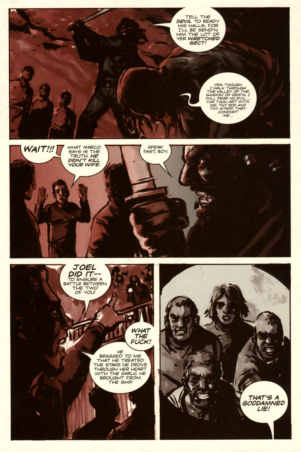 Read online Sea of Red comic -  Issue #8 - 19