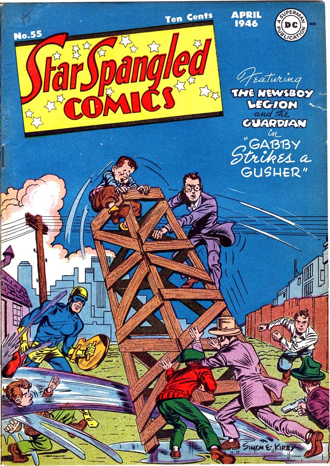 Star Spangled Comics (1941) 55 Page 1