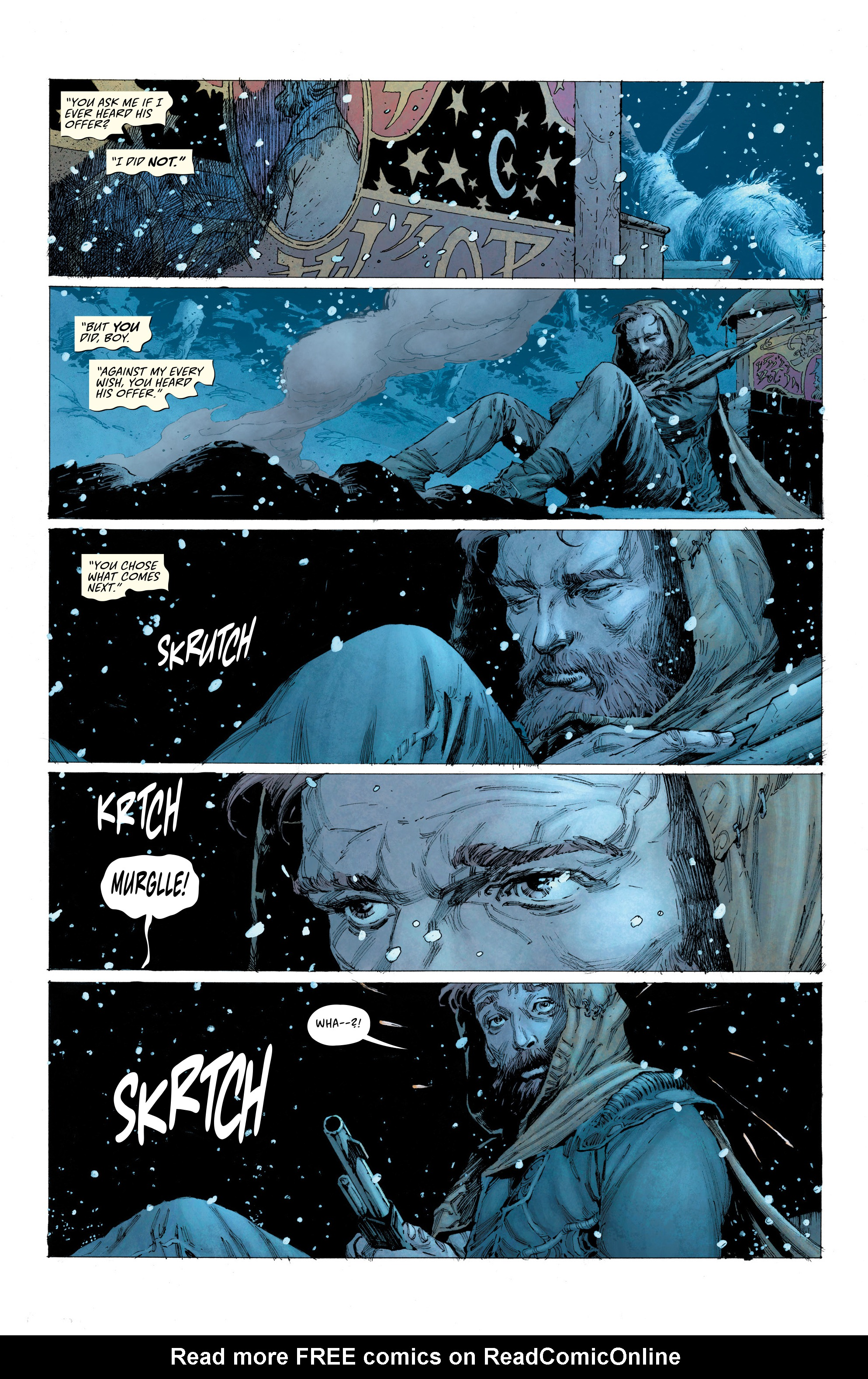 Read online Seven To Eternity comic -  Issue #4 - 21