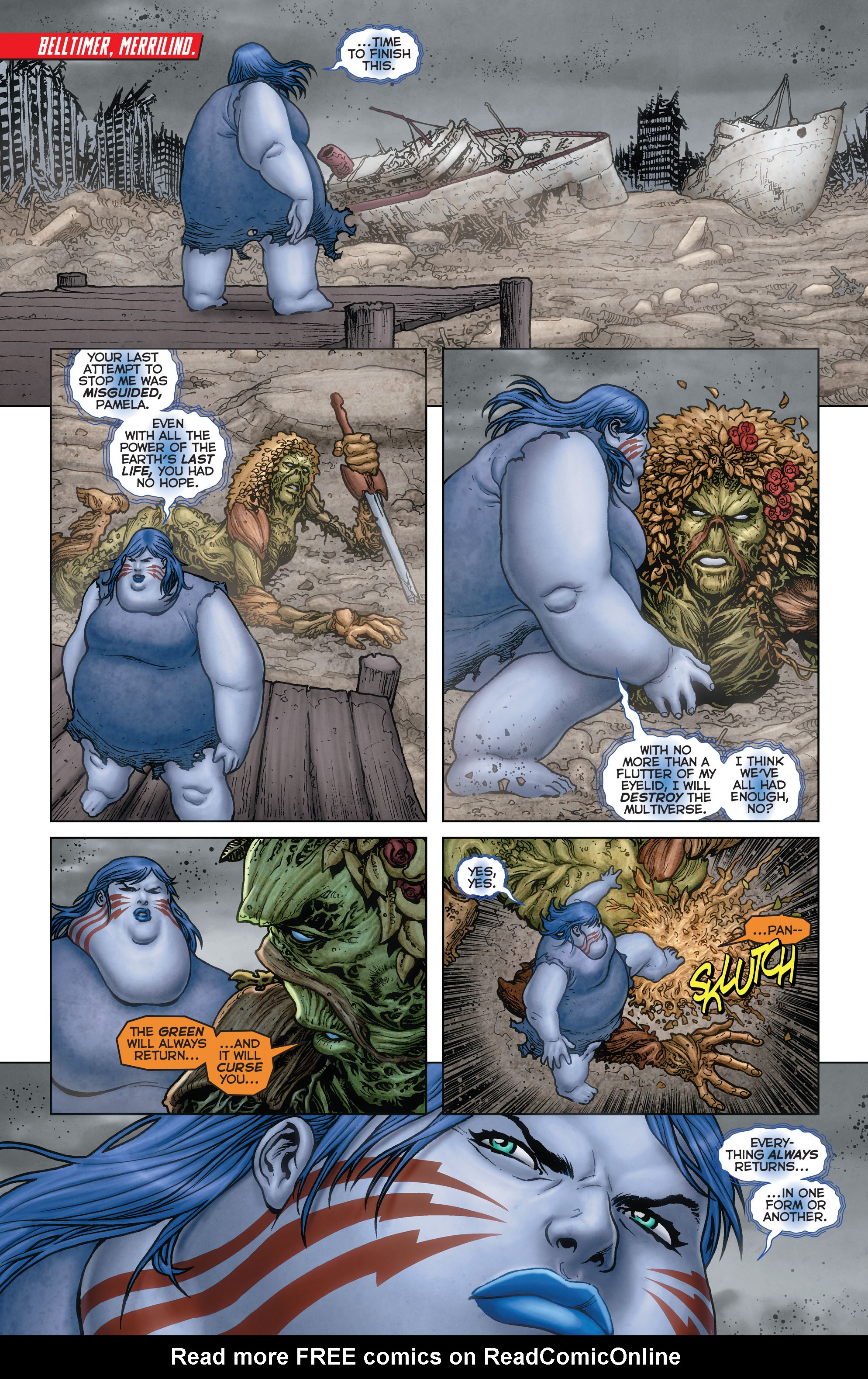 Read online Trinity of Sin: Pandora: Futures End comic -  Issue # Full - 5