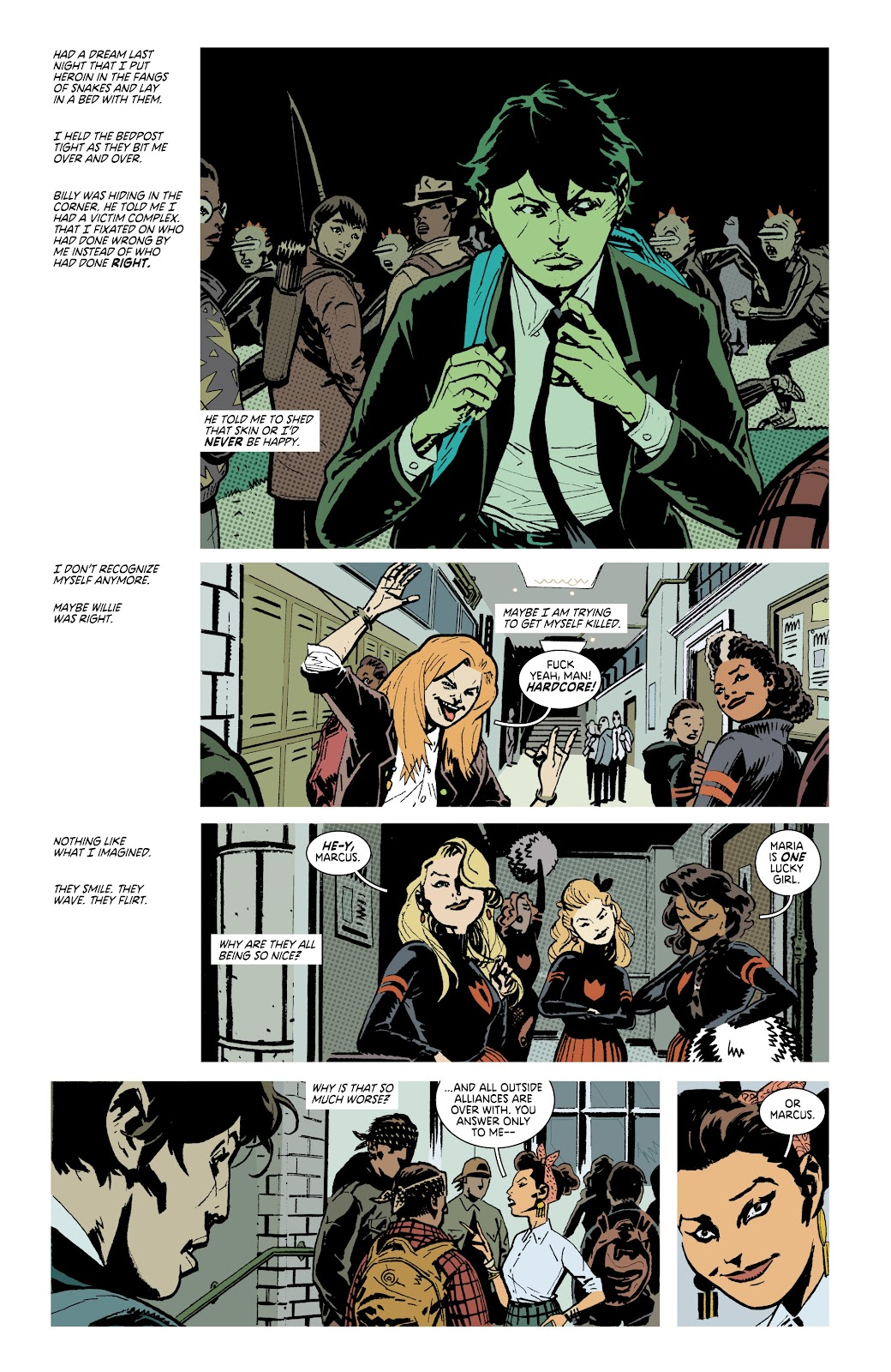 Read online Deadly Class comic -  Issue #38 - 16