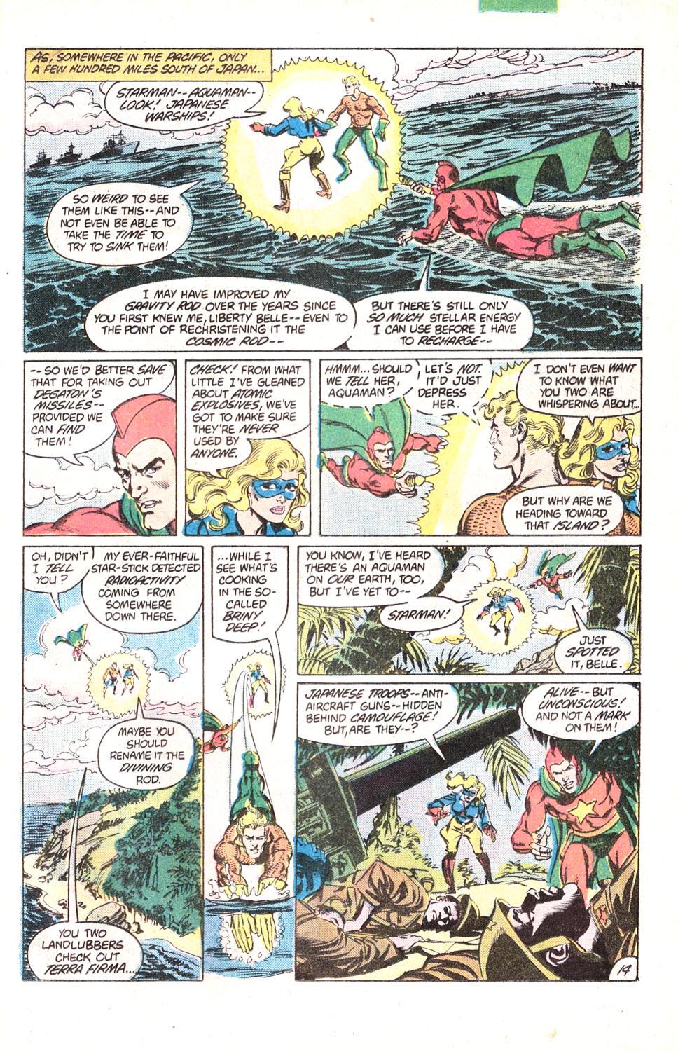 Read online All-Star Squadron comic -  Issue #15 - 34