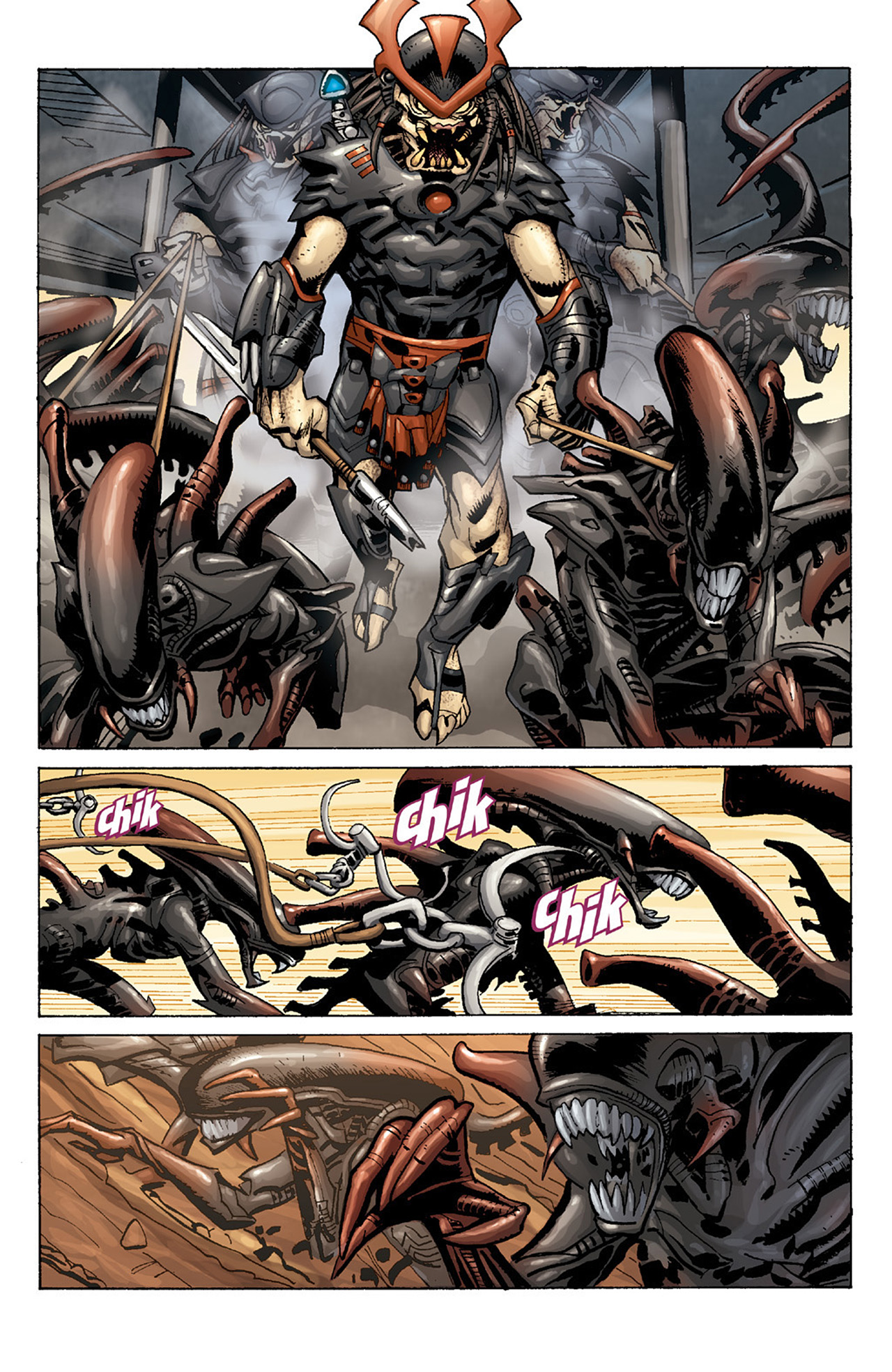 Read online Aliens vs. Predator: Three World War comic -  Issue #1 - 9