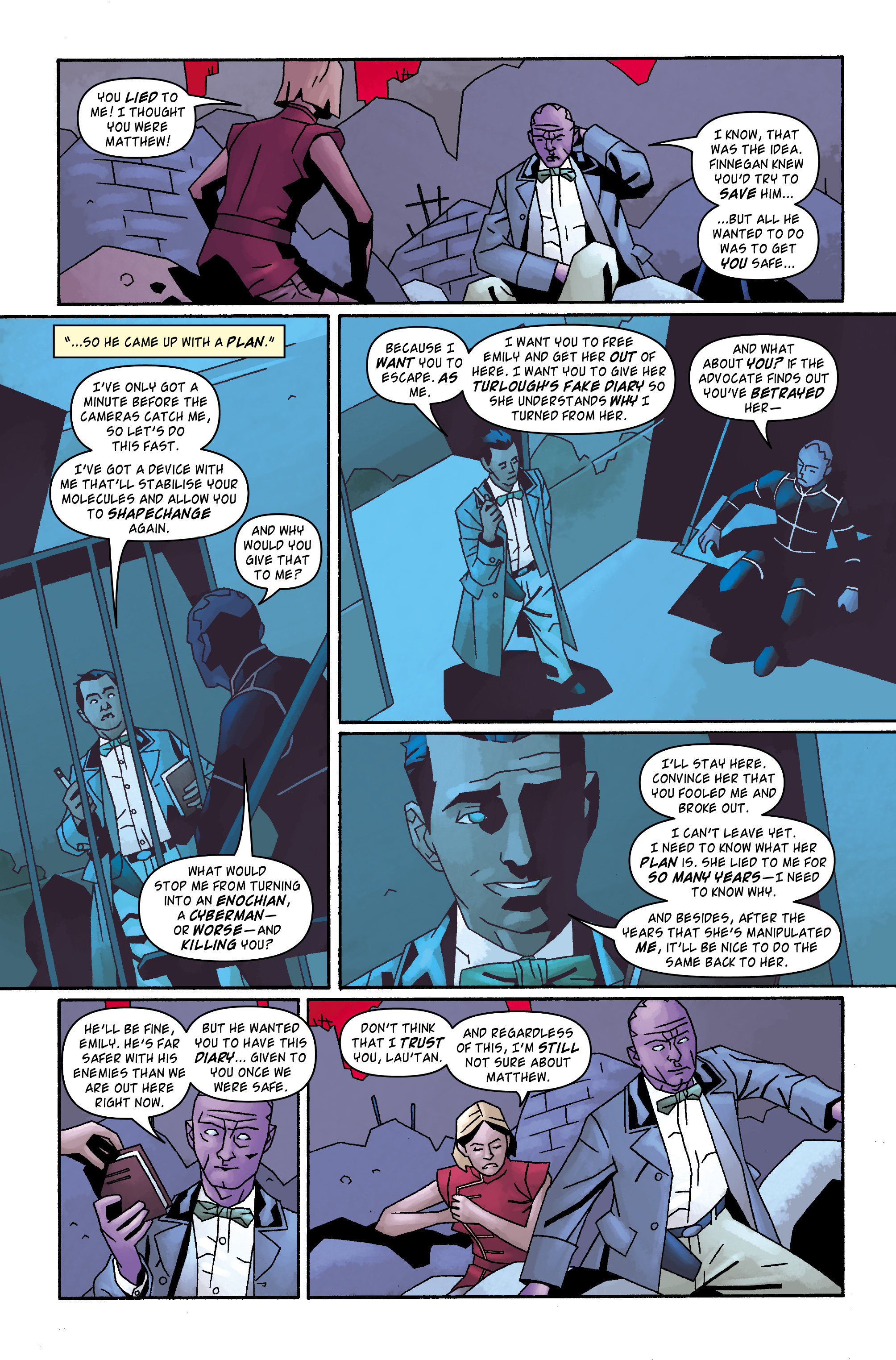 Read online Doctor Who: The Tenth Doctor Archives comic -  Issue #32 - 15