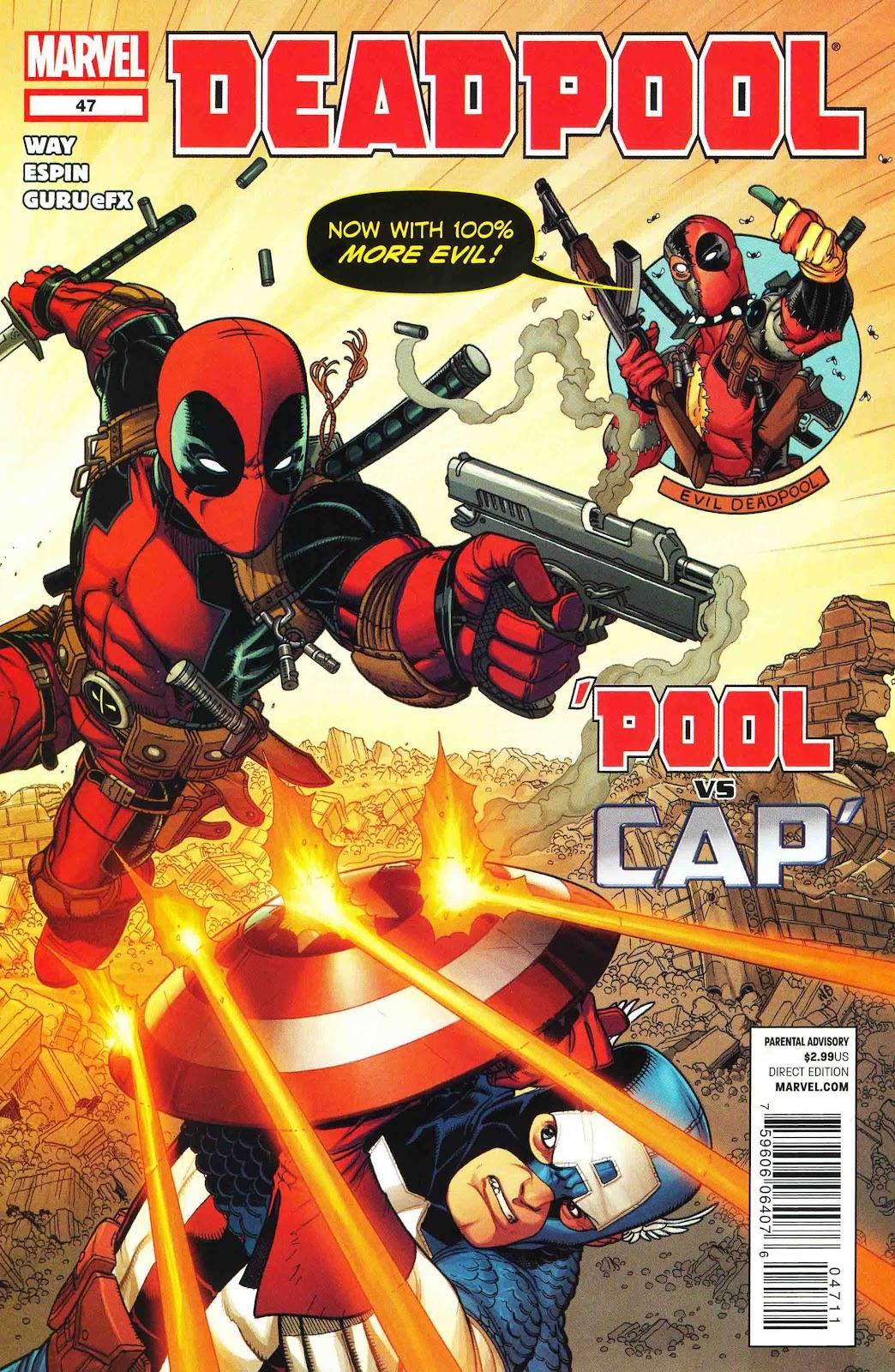 Read online Deadpool (2008) comic -  Issue #47 - 1