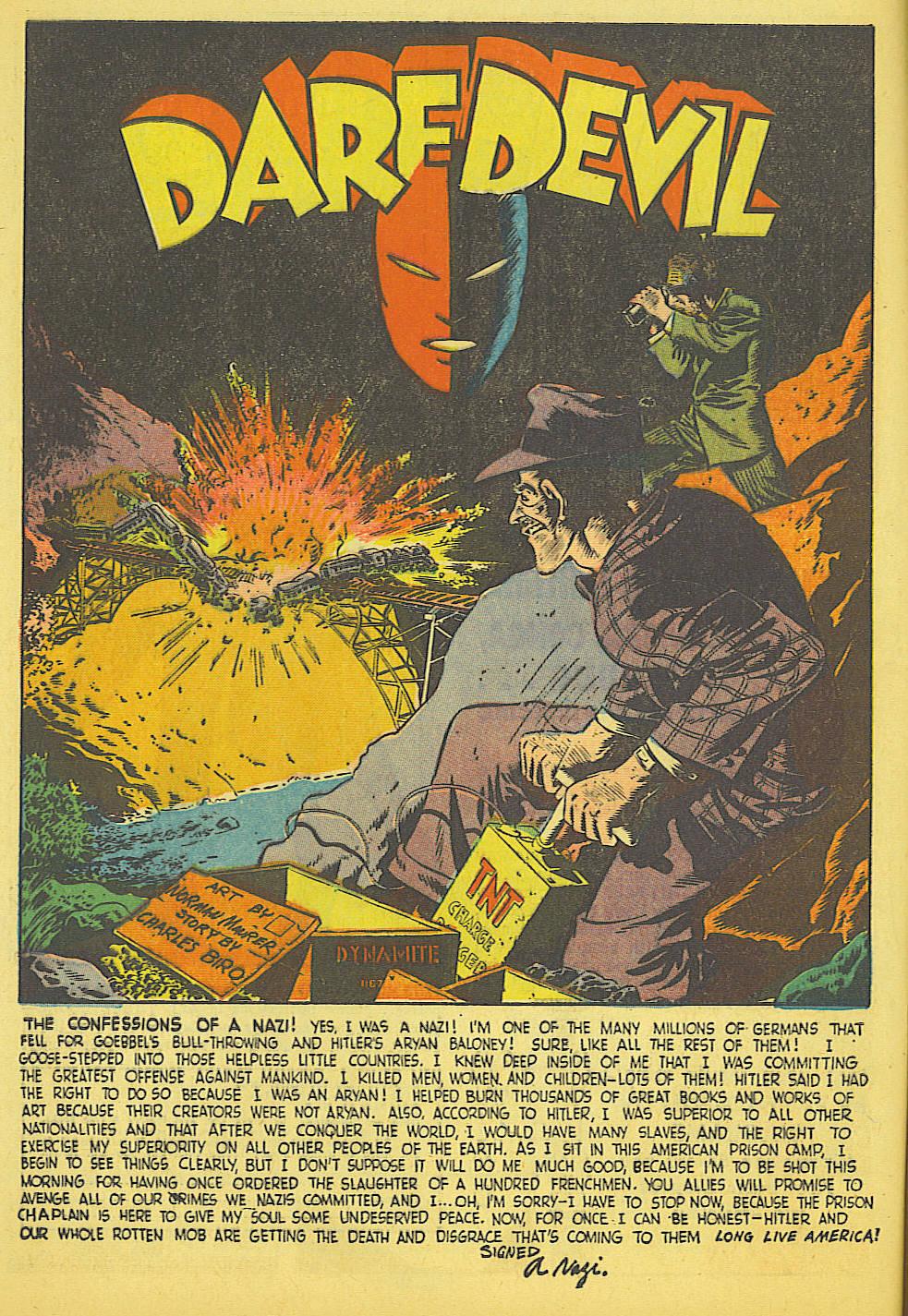 Daredevil (1941) issue 21 - Page 2