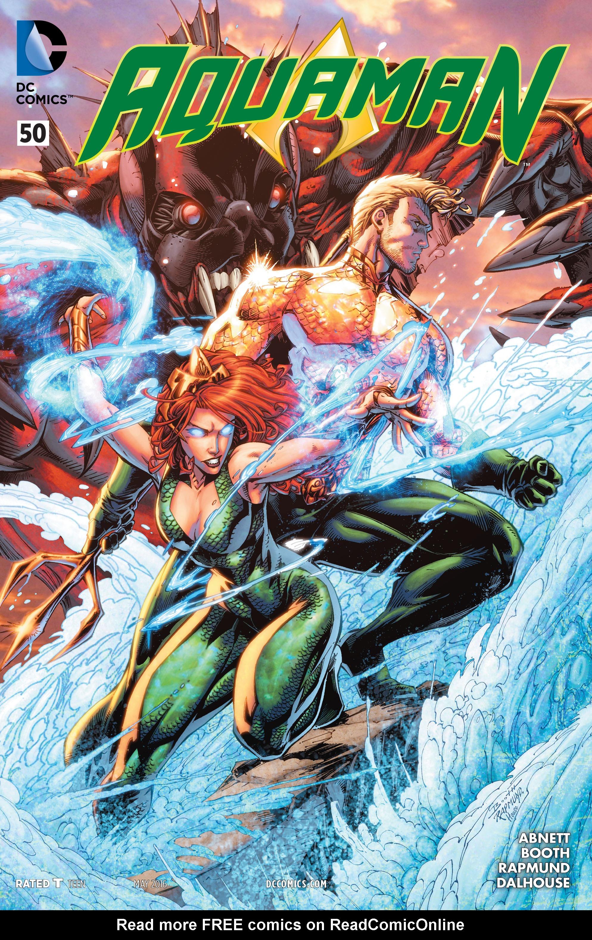 Read online Aquaman (2011) comic -  Issue #50 - 1