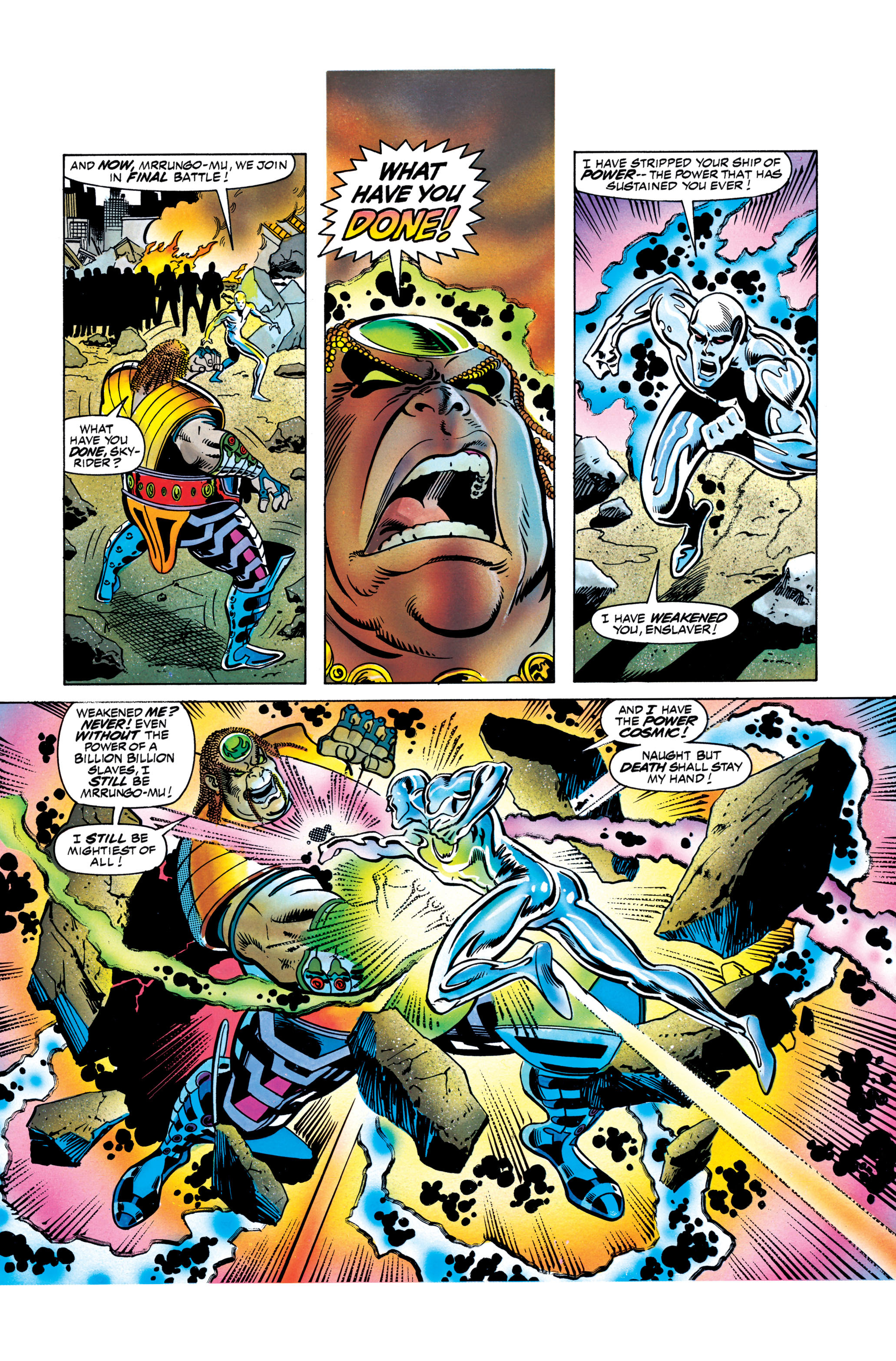Read online Silver Surfer: Parable comic -  Issue # TPB - 124