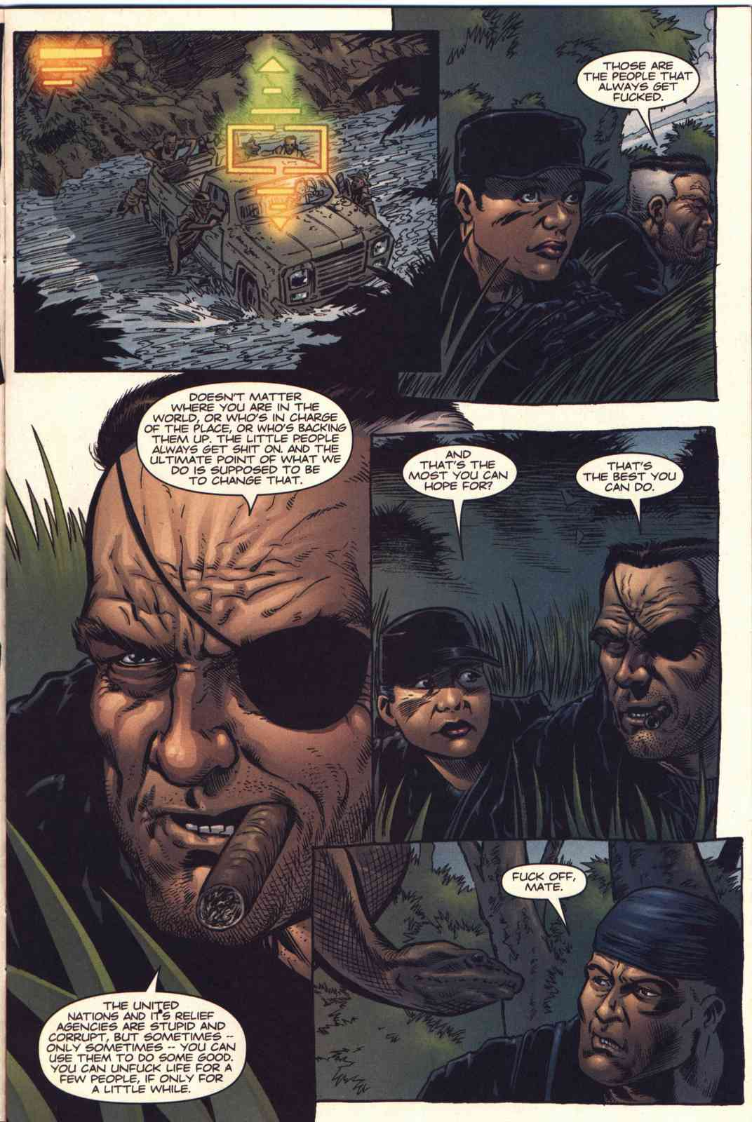 Read online Fury comic -  Issue #4 - 10