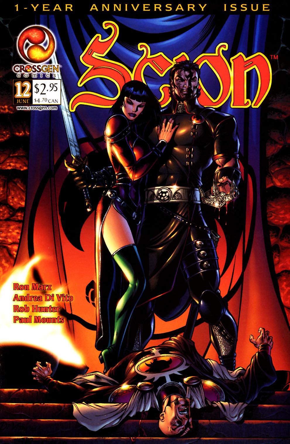 Read online Scion comic -  Issue #12 - 1