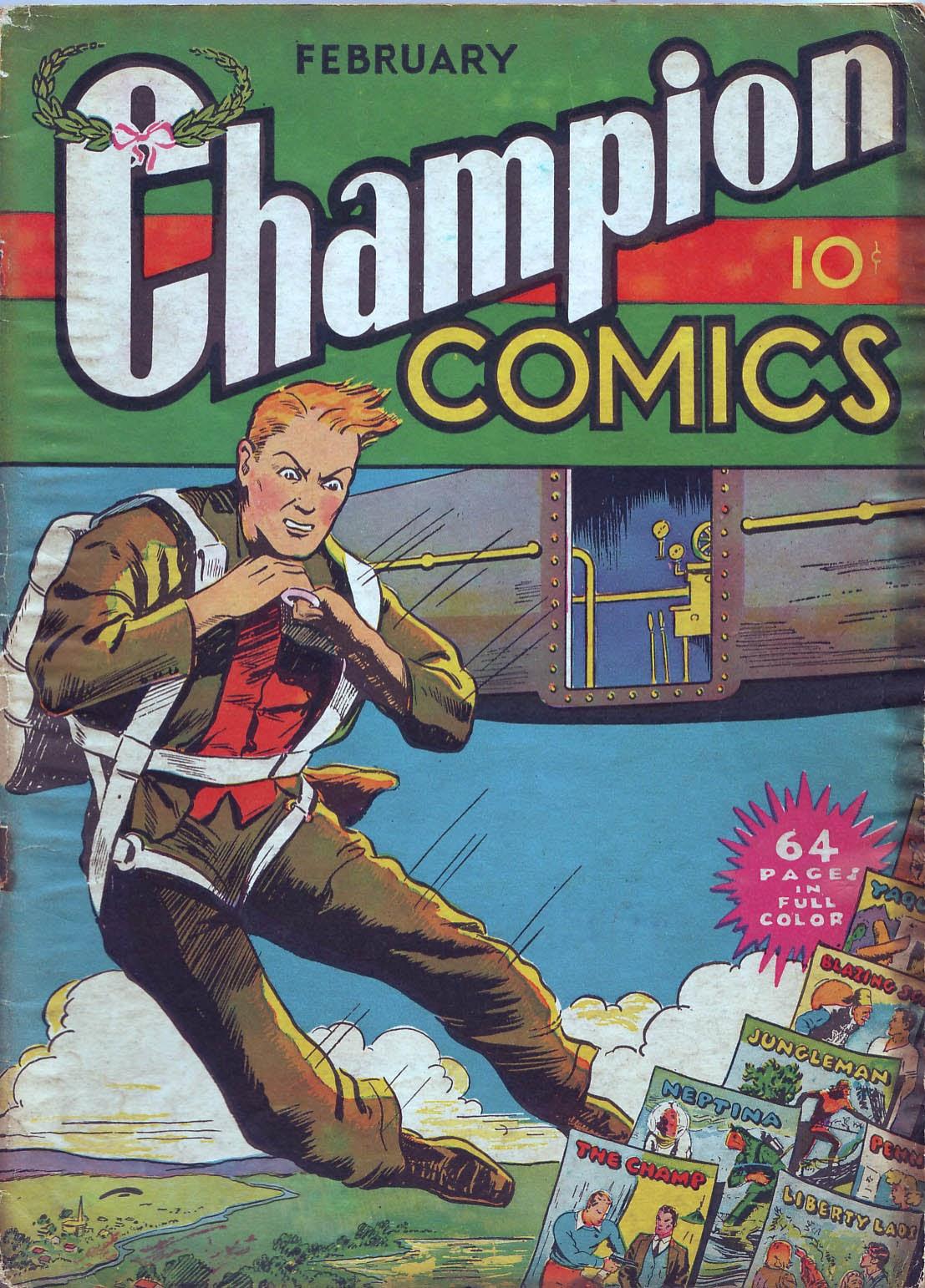 Champion Comics issue 4 - Page 1