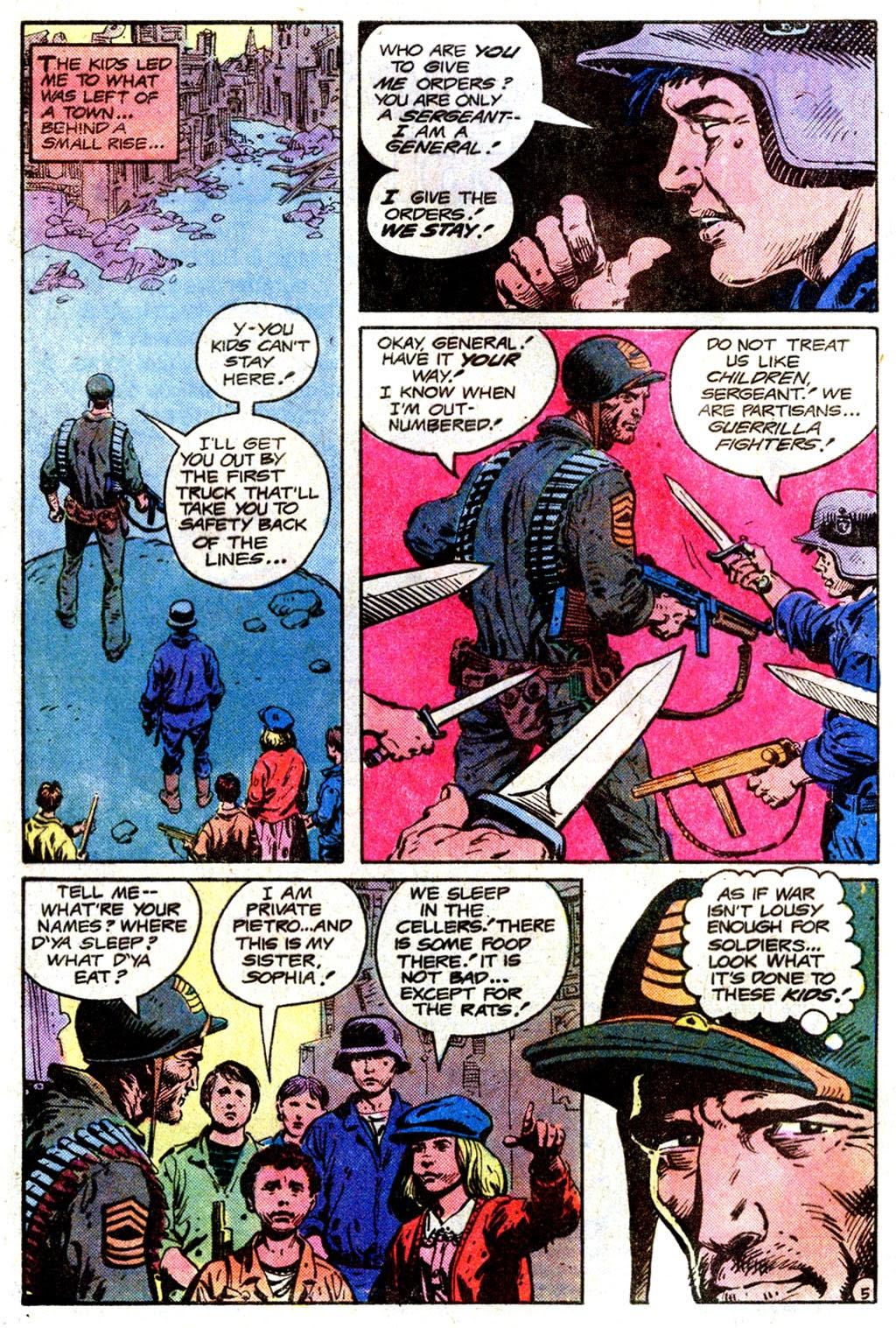 Read online Sgt. Rock comic -  Issue #358 - 5