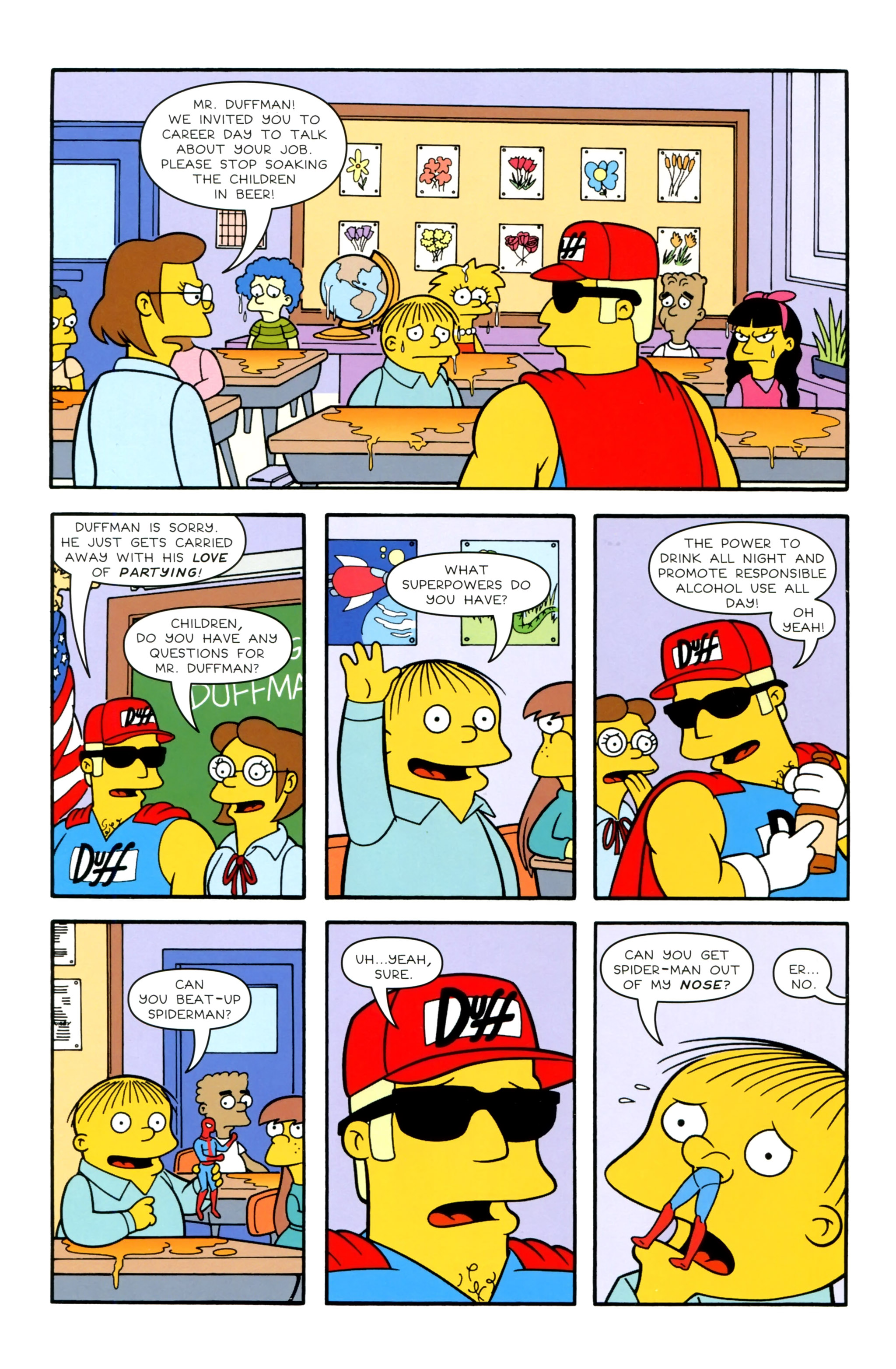 Read online Simpsons Illustrated (2012) comic -  Issue #20 - 4