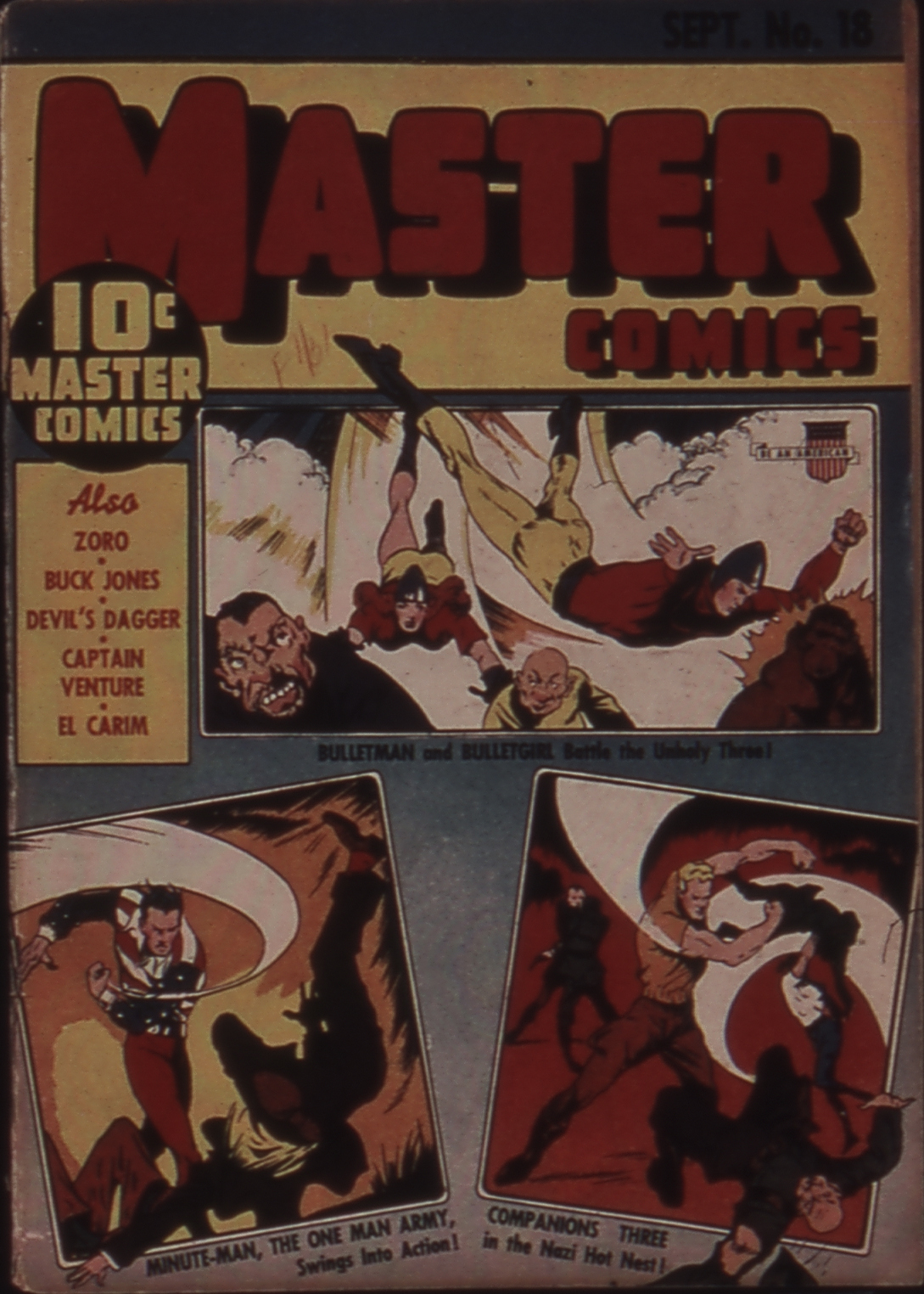 Master Comics 18 Page 1