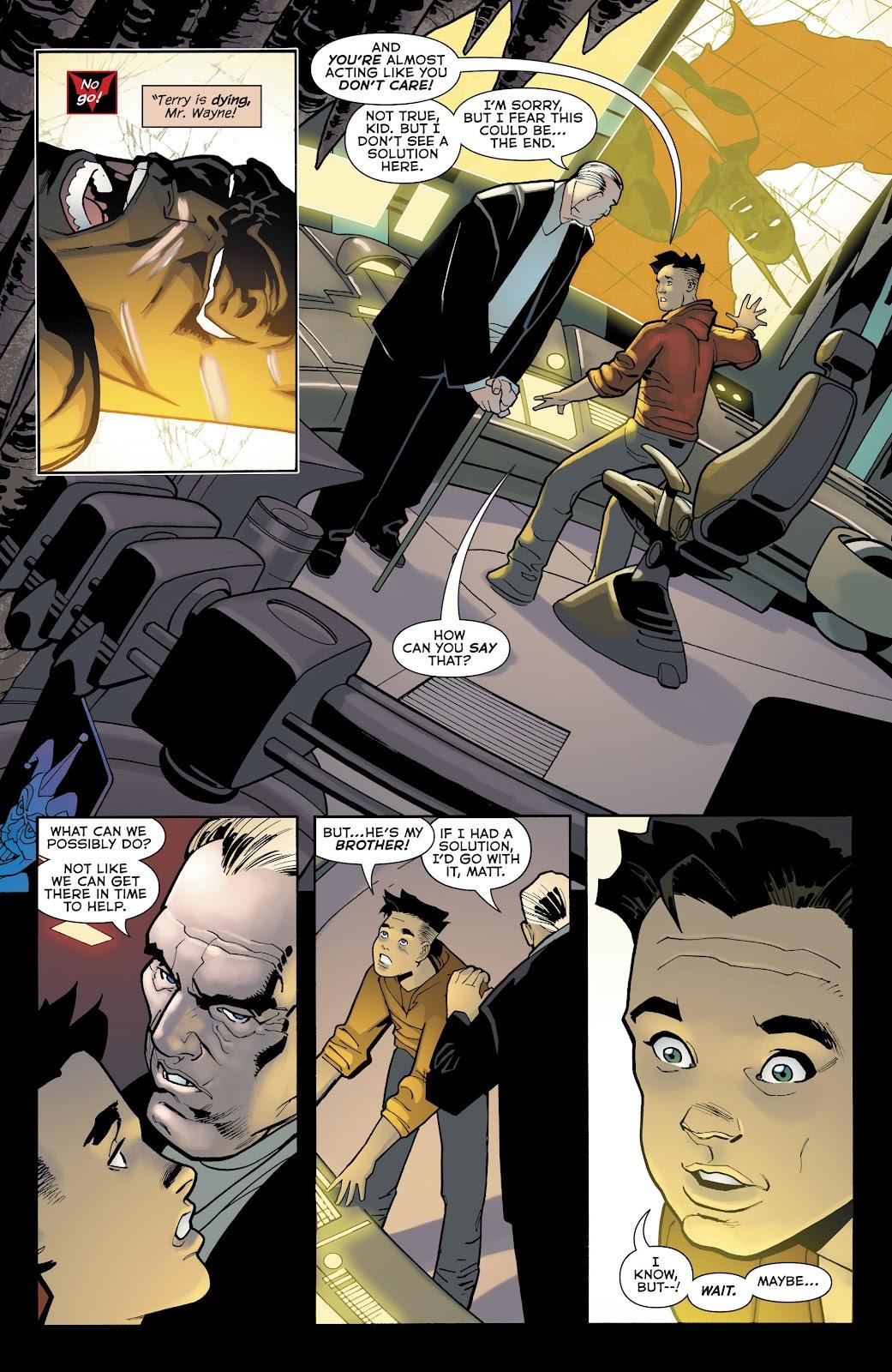 Read online Batman Beyond (2016) comic -  Issue #32 - 5