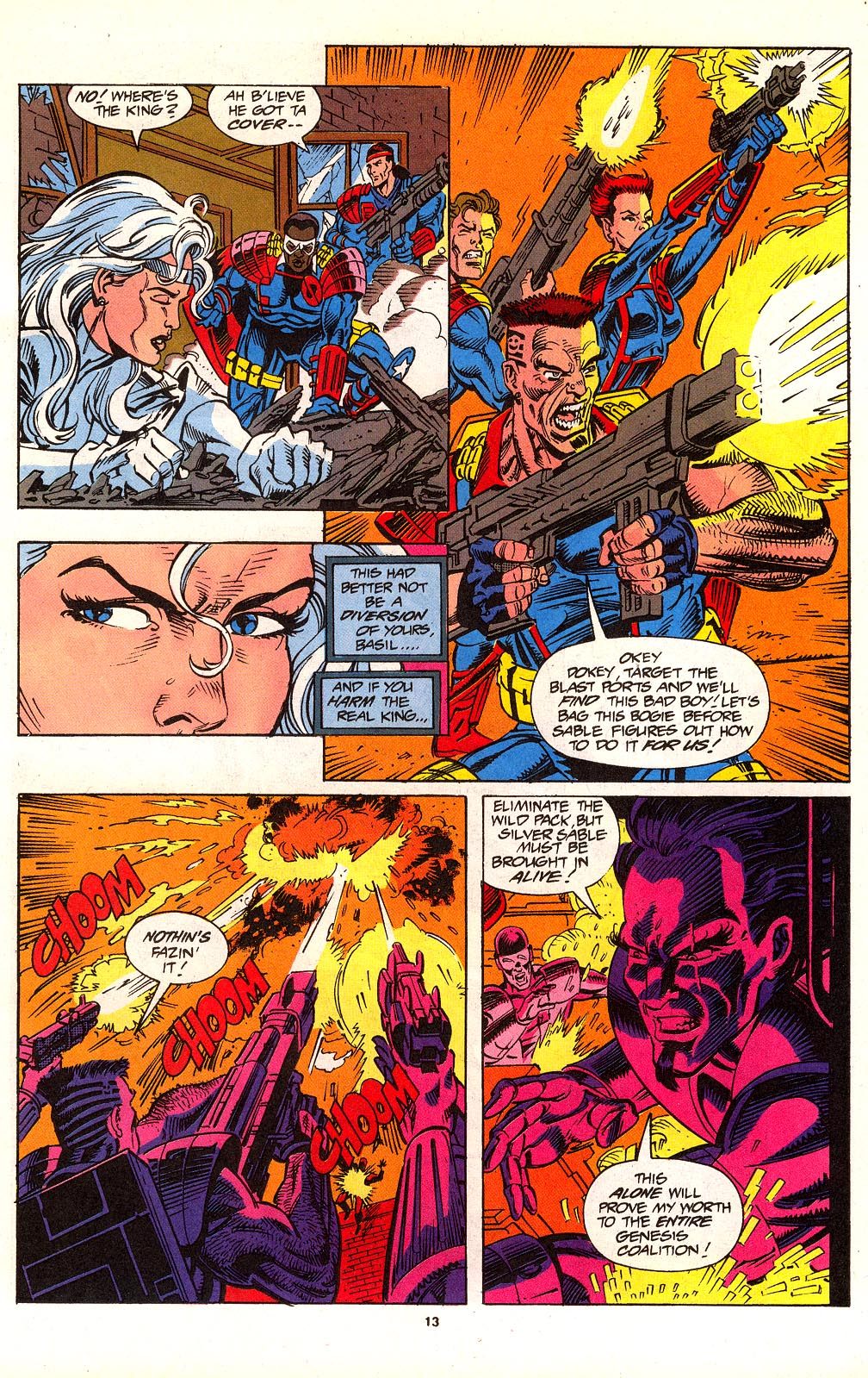 Read online Silver Sable and the Wild Pack comic -  Issue #24 - 10