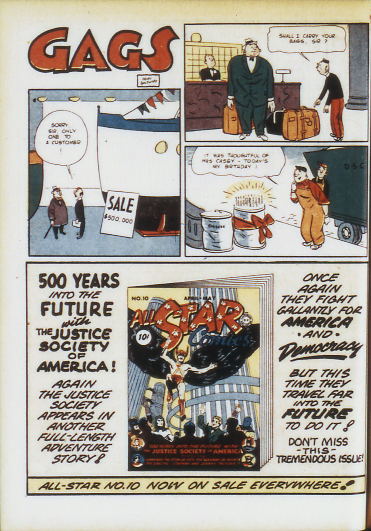 Read online Adventure Comics (1938) comic -  Issue #74 - 33