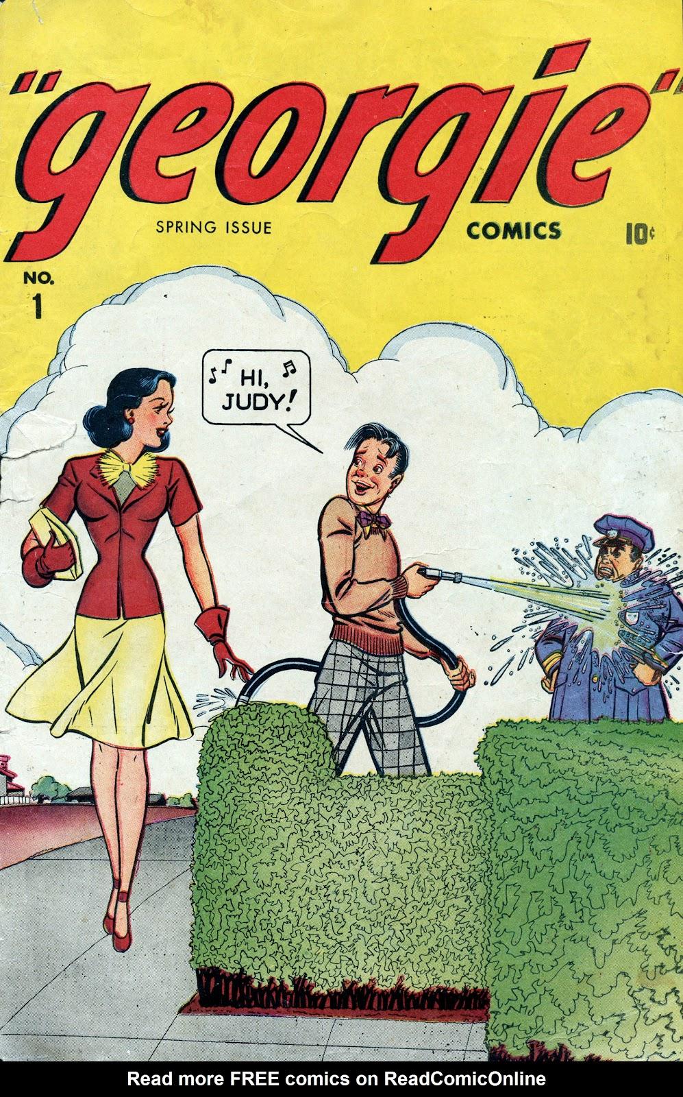 Georgie Comics (1945) issue 1 - Page 1