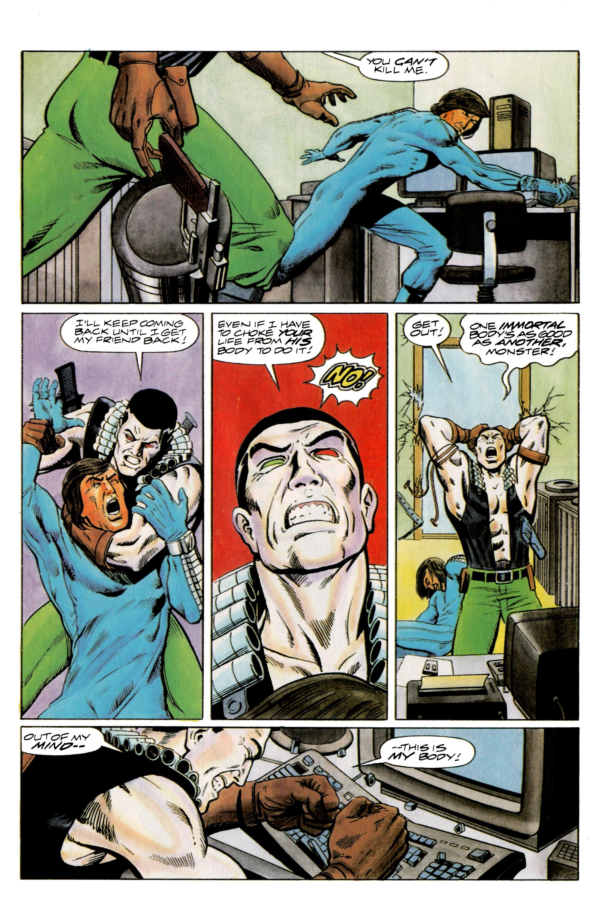 Read online Eternal Warrior (1992) comic -  Issue #14 - 20