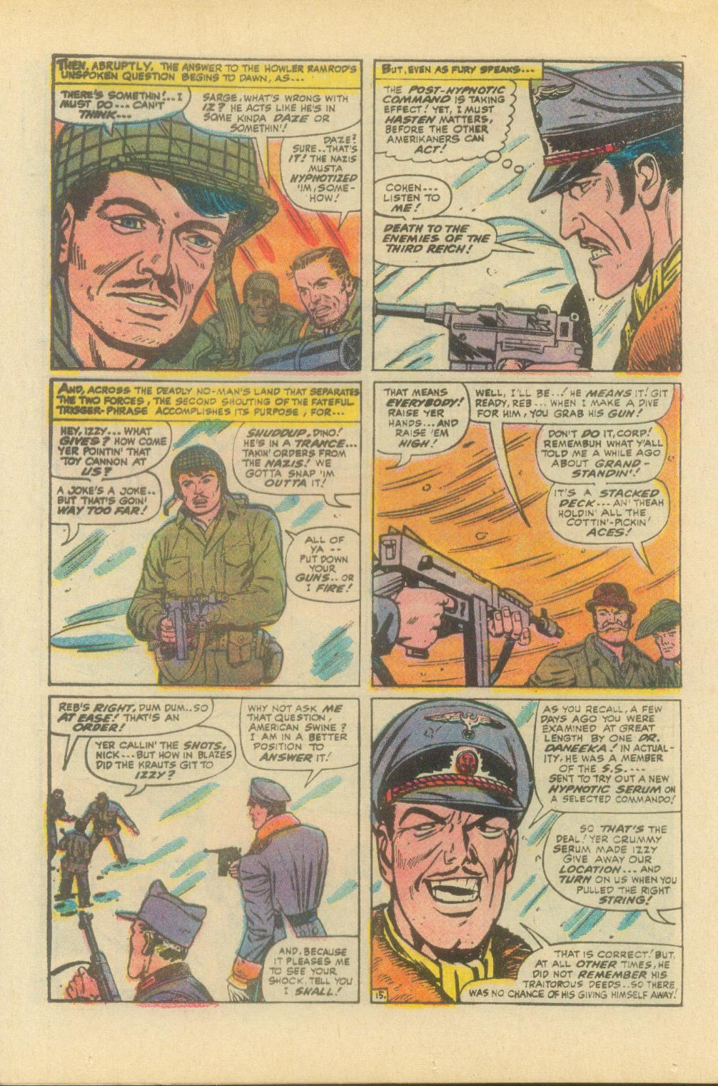 Read online Sgt. Fury comic -  Issue #93 - 24