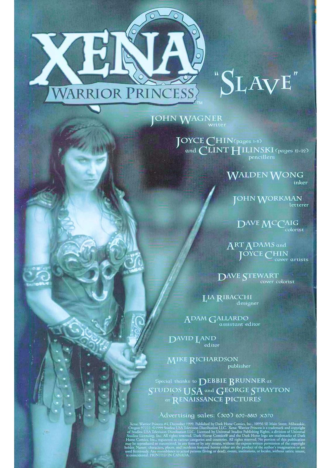 Xena: Warrior Princess (1999) Issue #4 #4 - English 4