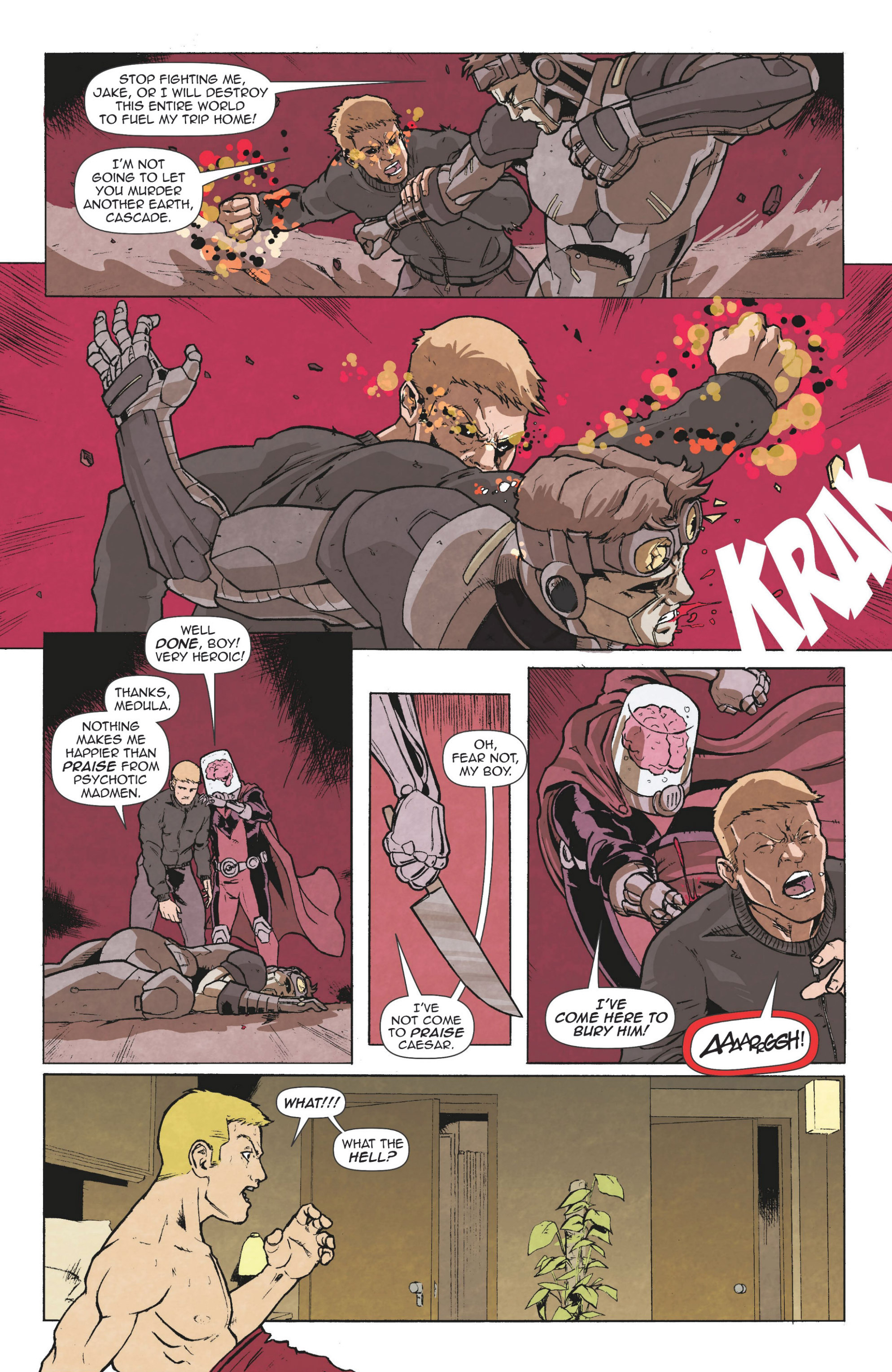 Read online Actionverse comic -  Issue #6 - 28