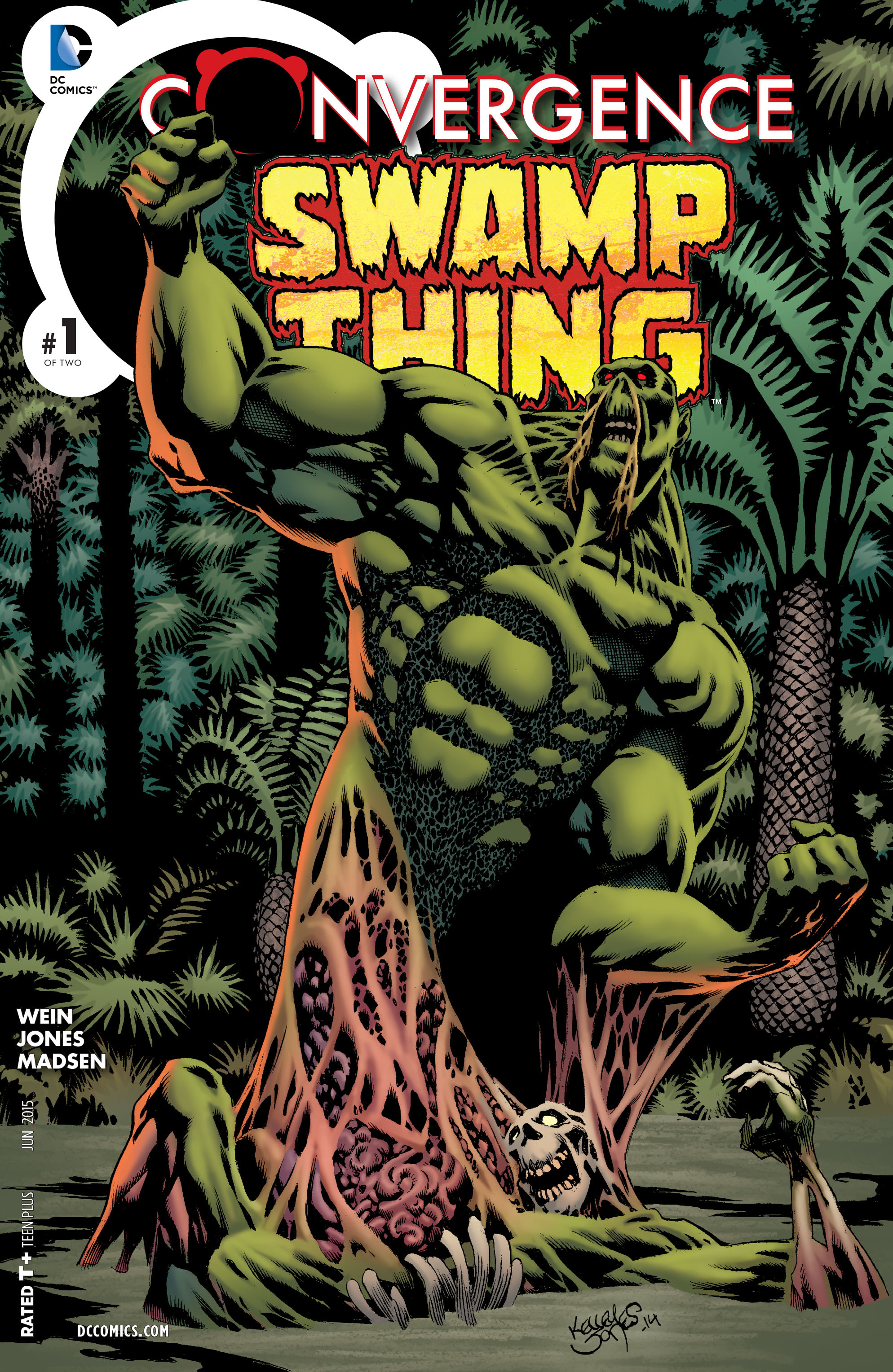Read online Convergence Swamp Thing comic -  Issue #1 - 1