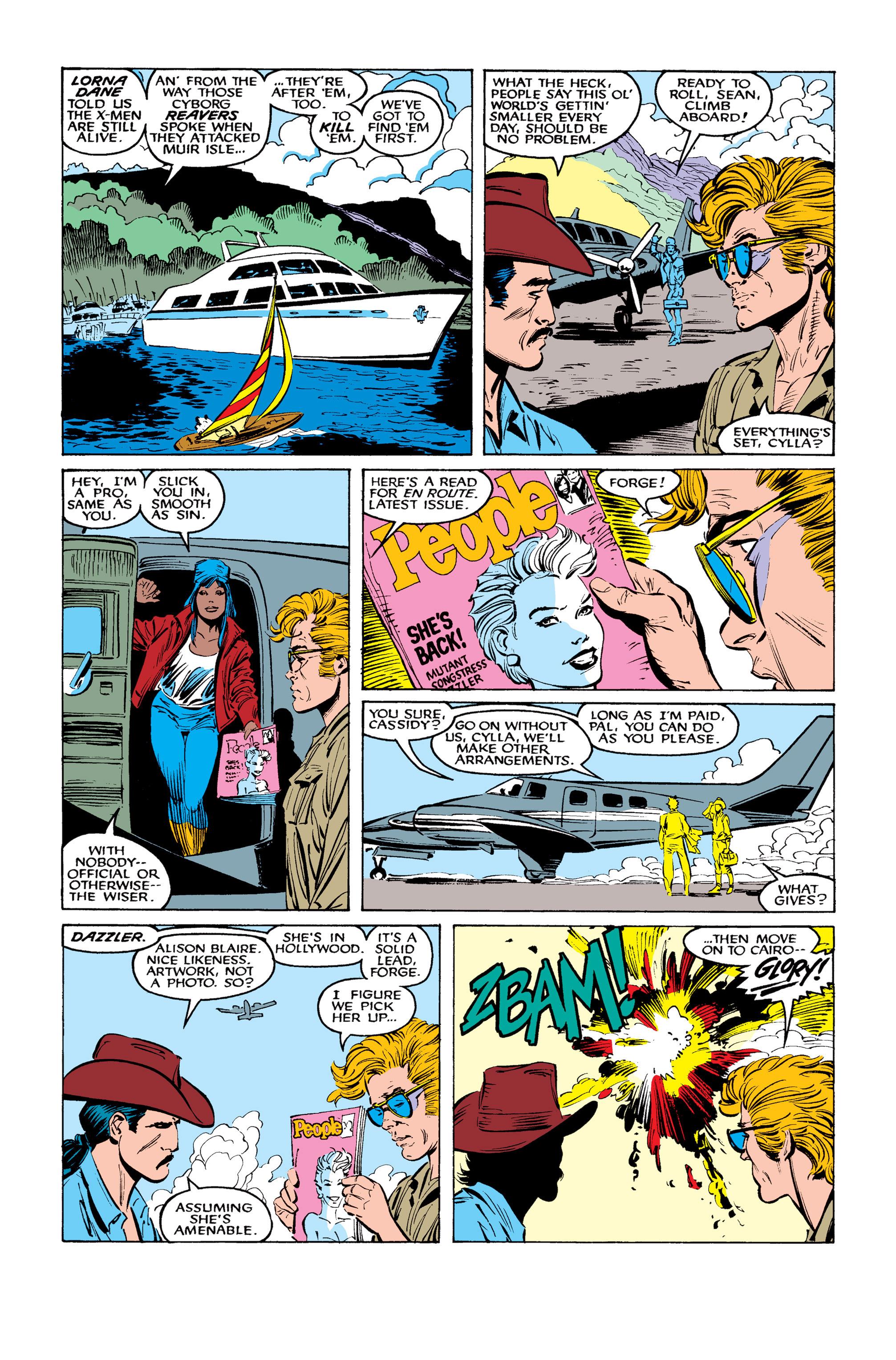 Read online Uncanny X-Men (1963) comic -  Issue #260 - 17