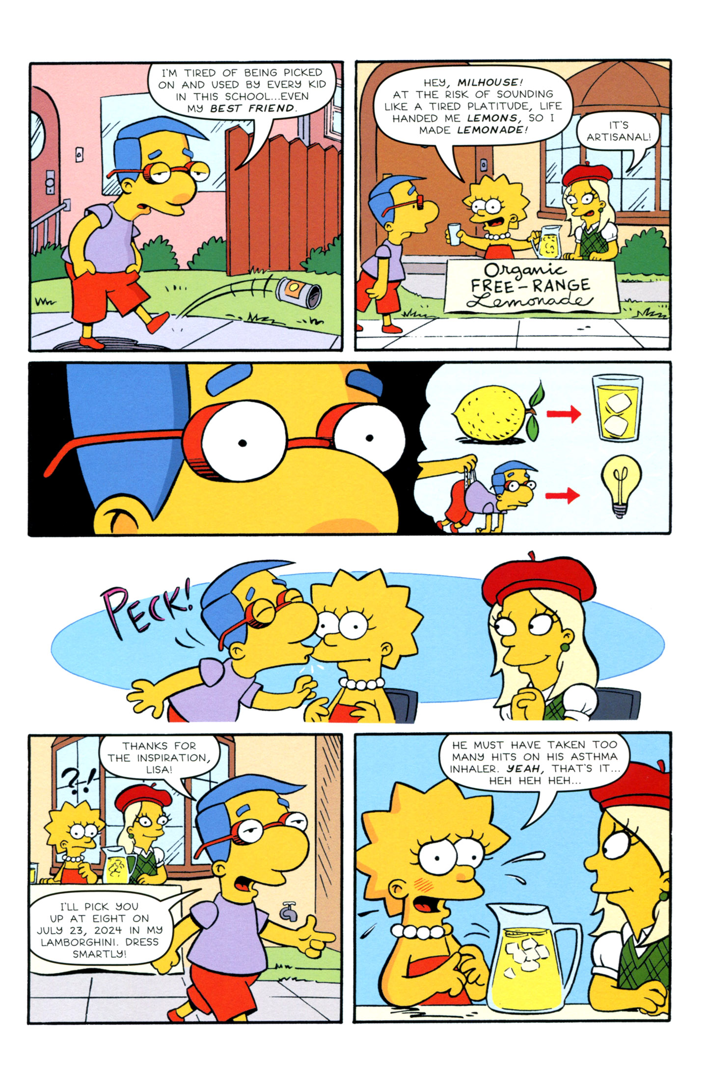 Read online Simpsons Comics Presents Bart Simpson comic -  Issue #72 - 13