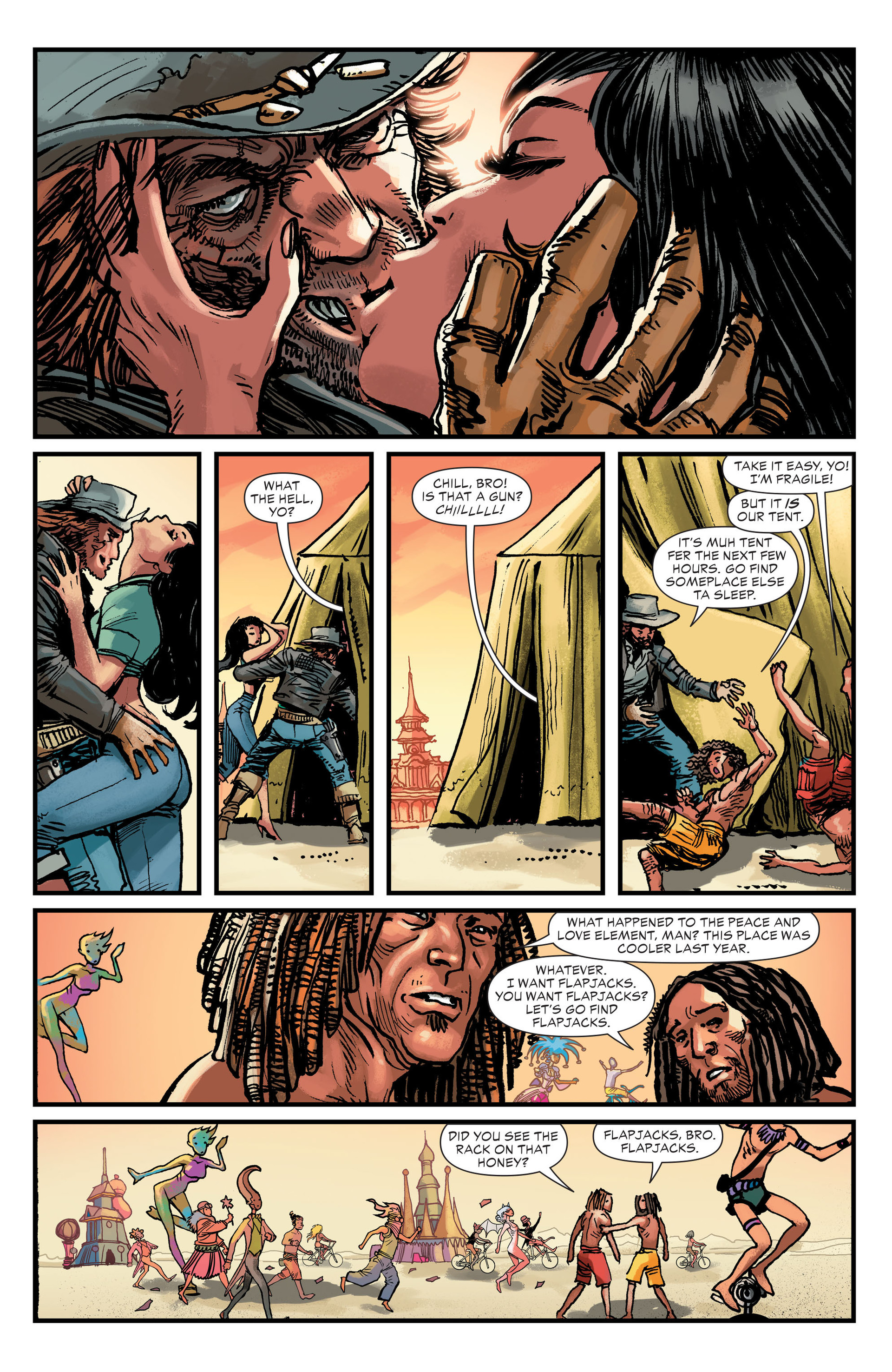 Read online All-Star Western (2011) comic -  Issue #26 - 21