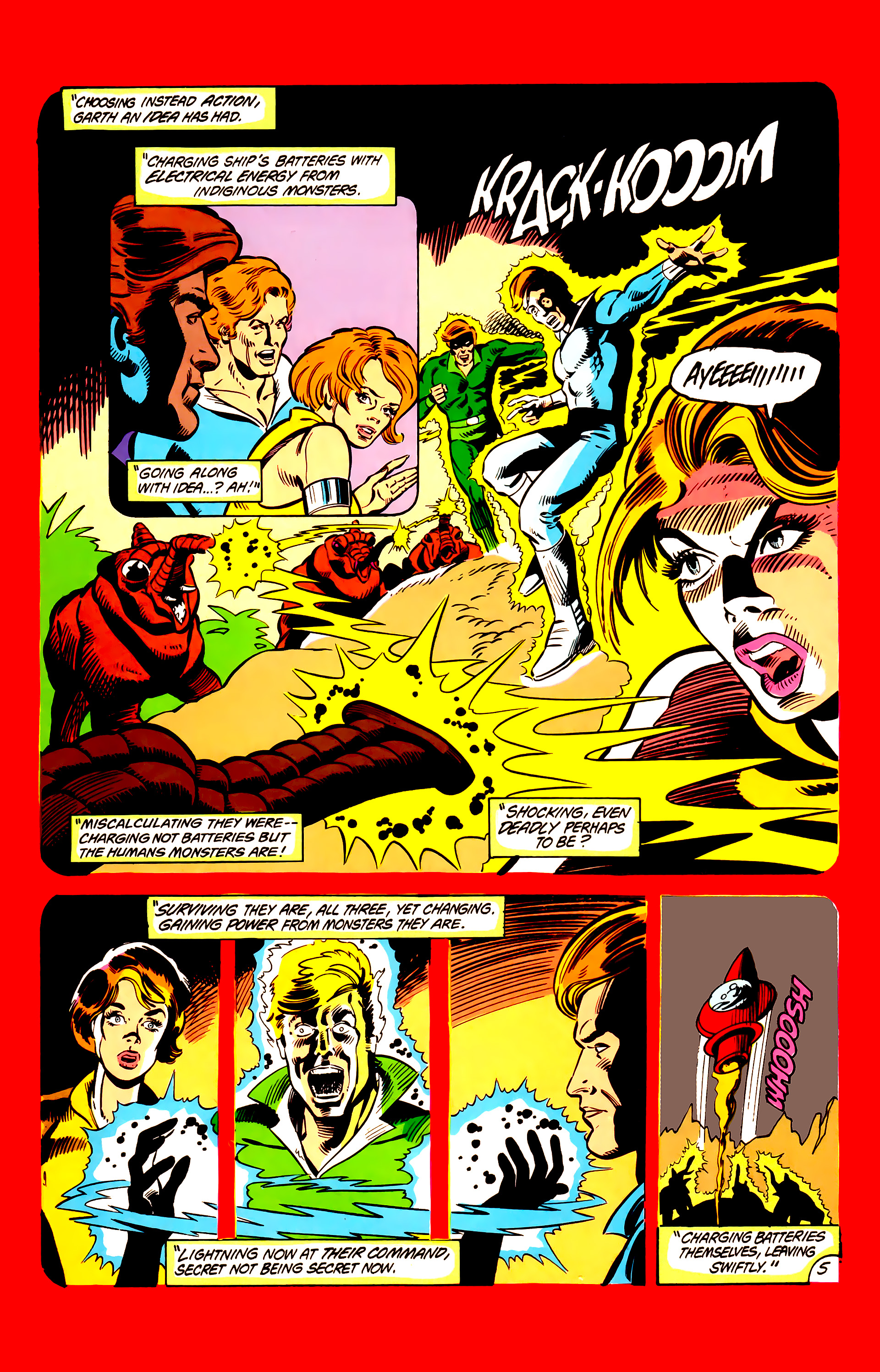 Legion of Super-Heroes (1984) 6 Page 5