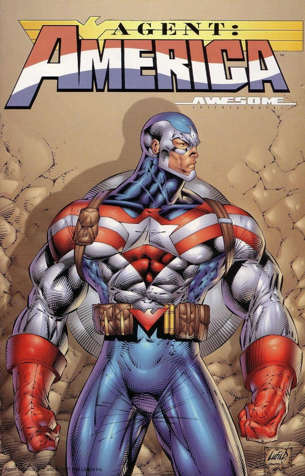 Read online Agent: America comic -  Issue # Full - 1
