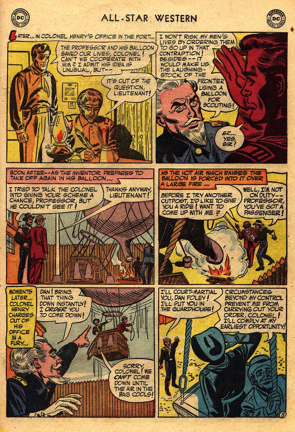 Read online All-Star Western (1951) comic -  Issue #70 - 21