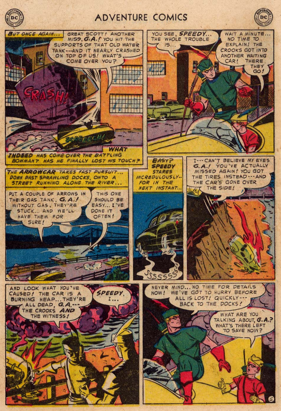 Read online Adventure Comics (1938) comic -  Issue #193 - 38