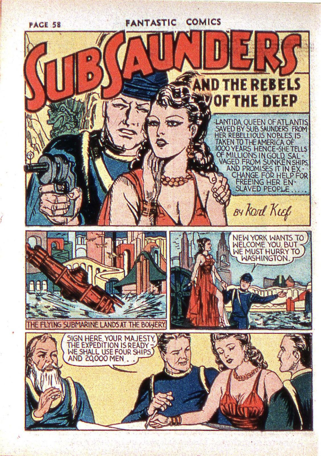 Read online Fantastic Comics comic -  Issue #2 - 59