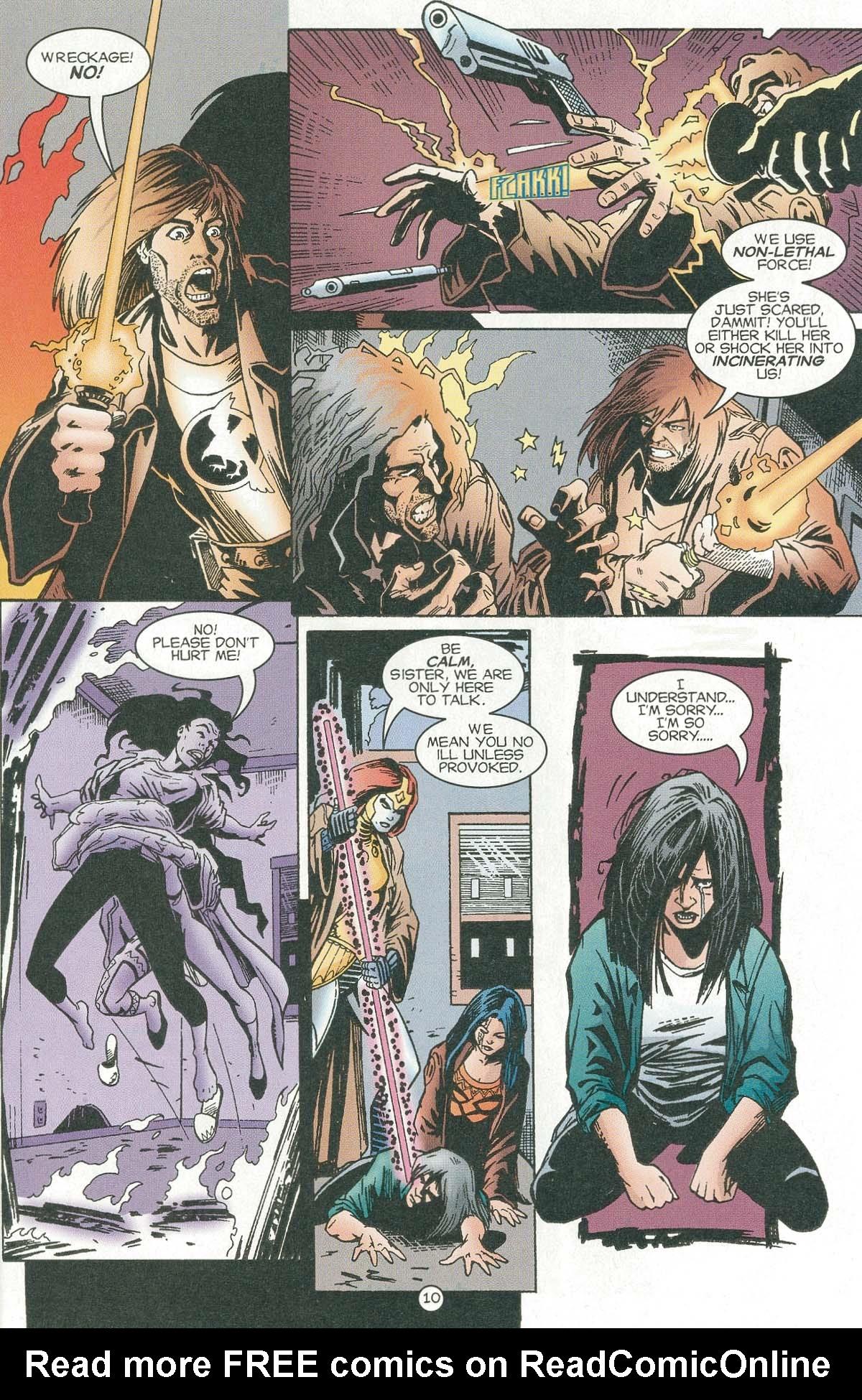 Read online UltraForce (1995) comic -  Issue #6 - 12