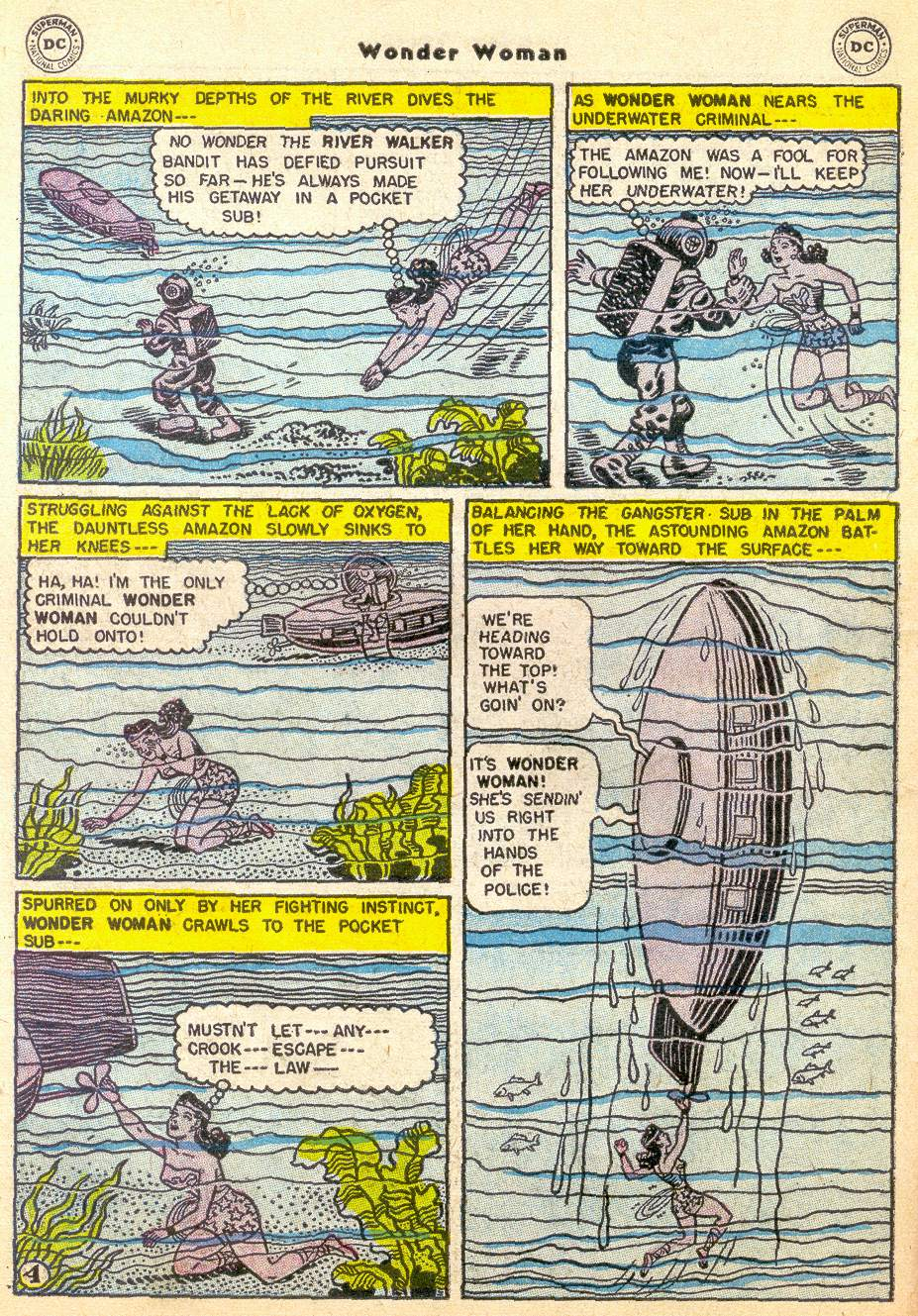 Read online Wonder Woman (1942) comic -  Issue #76 - 28