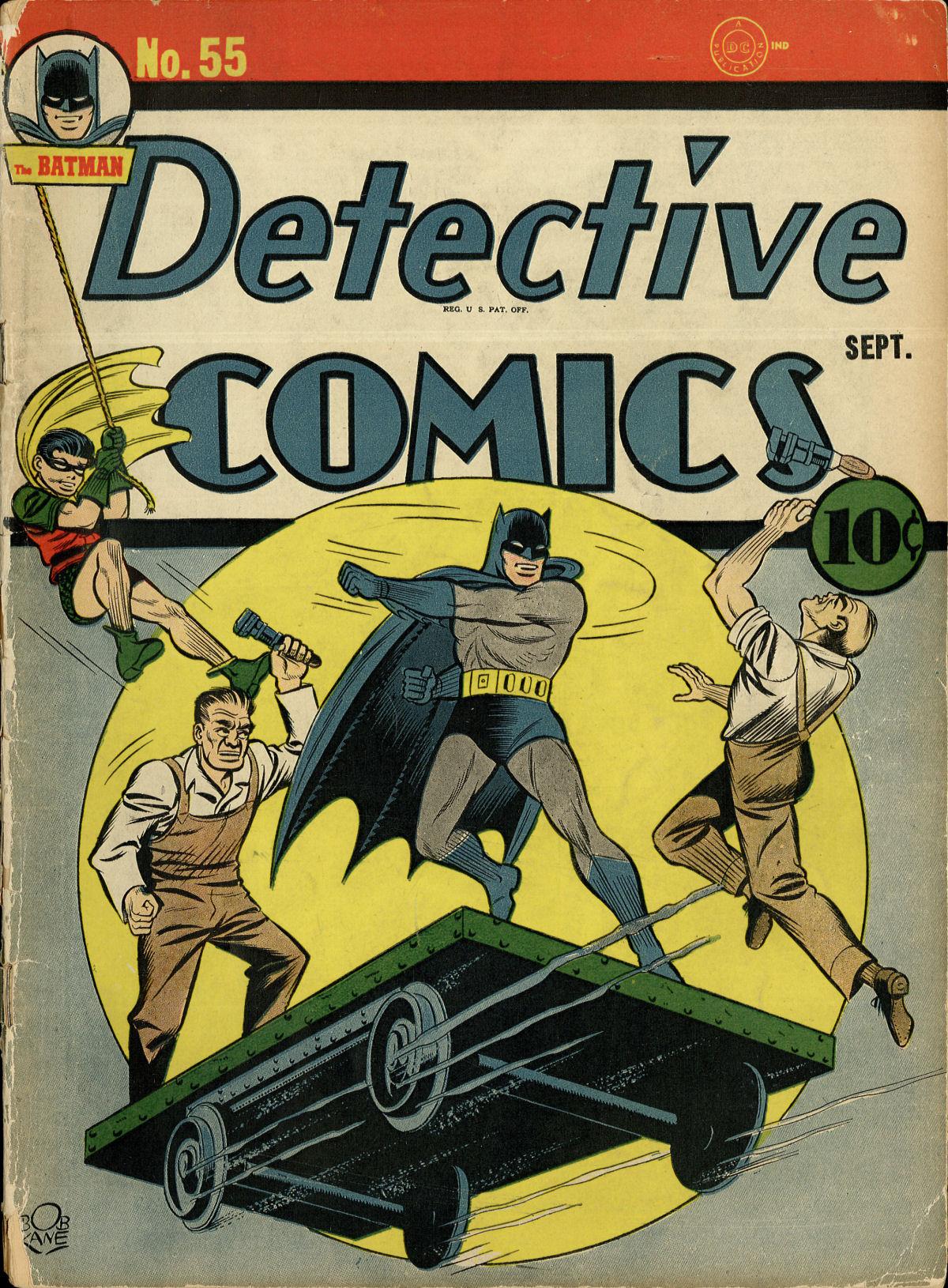 Read online Detective Comics (1937) comic -  Issue #55 - 1