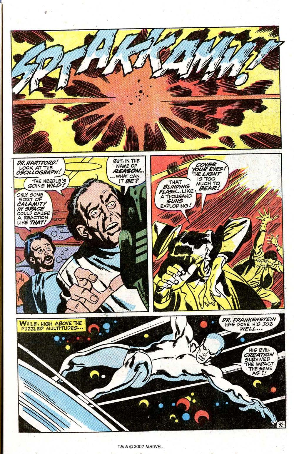 Read online Silver Surfer (1968) comic -  Issue #7 - 39