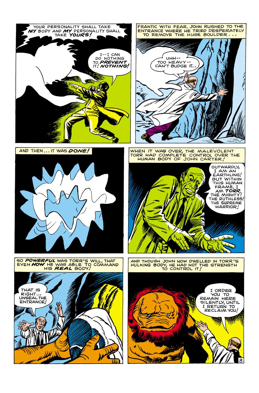 Read online Amazing Adventures (1961) comic -  Issue #1 - 10